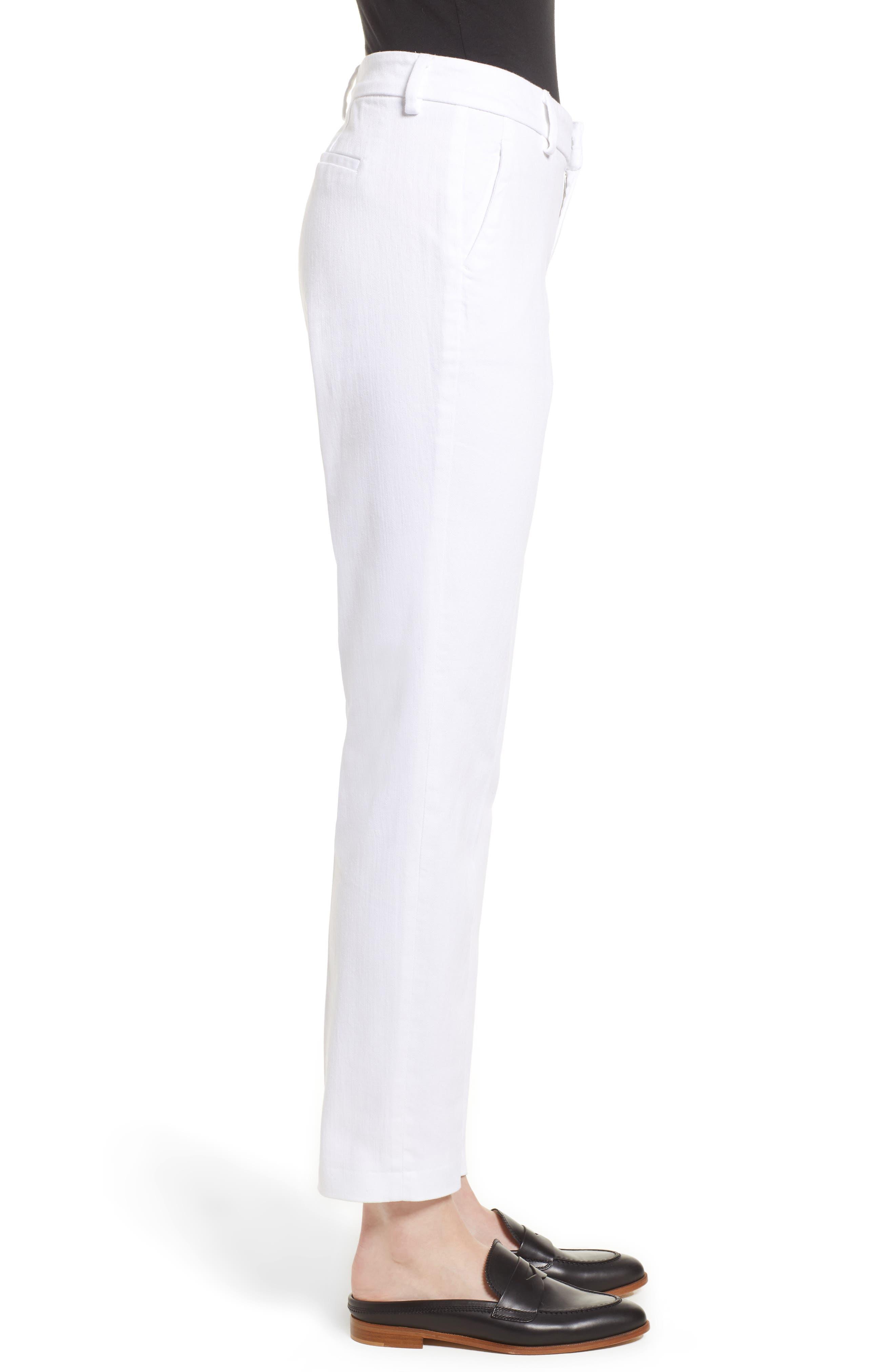 Kelsey Trousers,                             Alternate thumbnail 3, color,                             BRIGHT WHITE