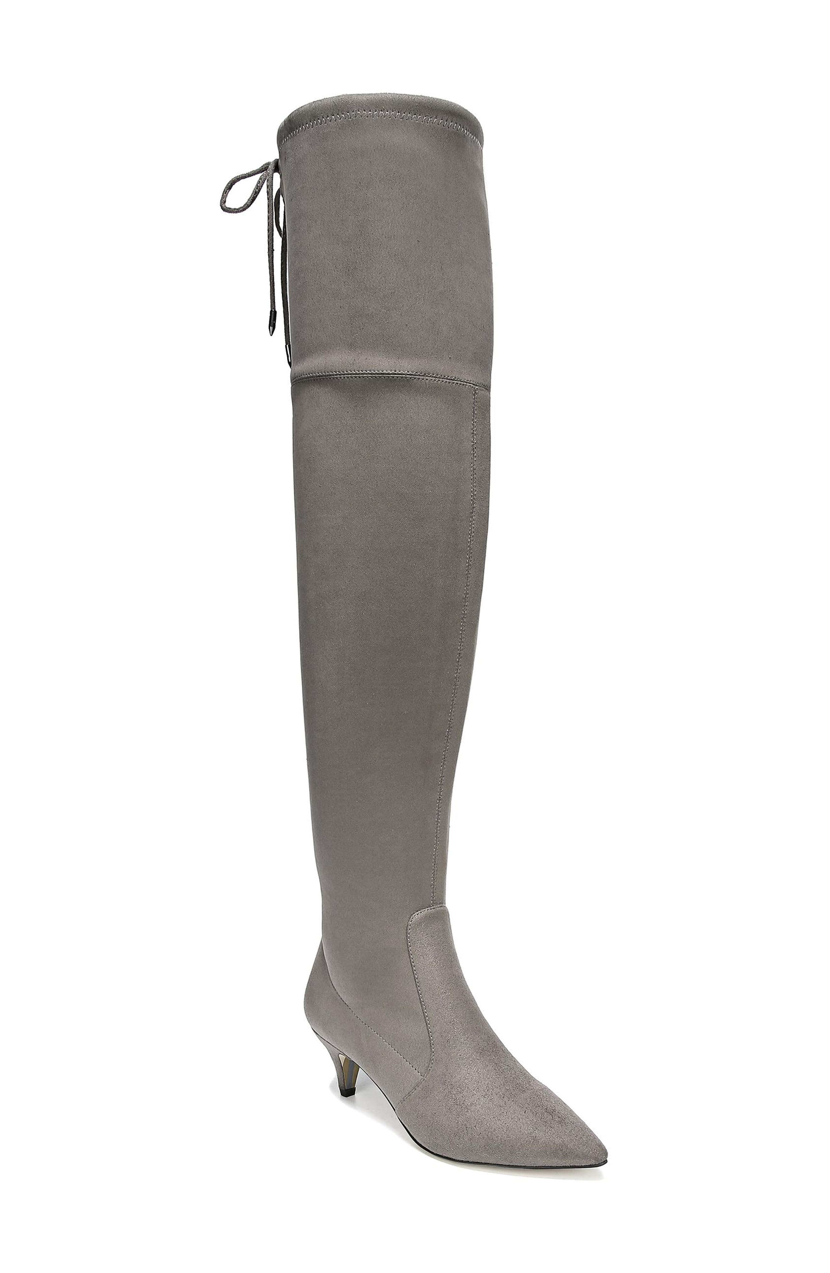 Sam Edelman Kristie Over The Knee Boot, Grey