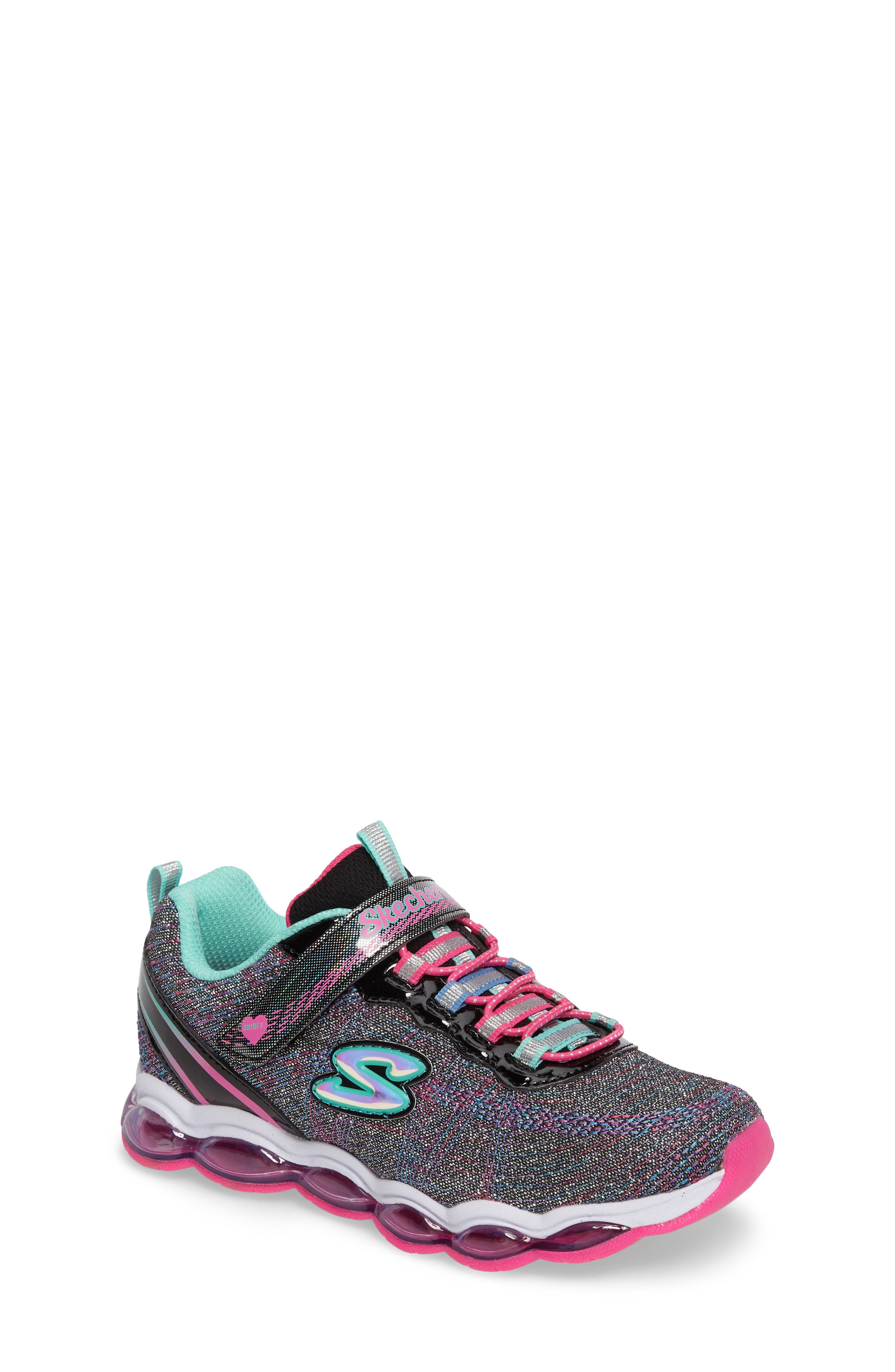 Glimmer Lights Sneakers,                             Main thumbnail 1, color,                             001