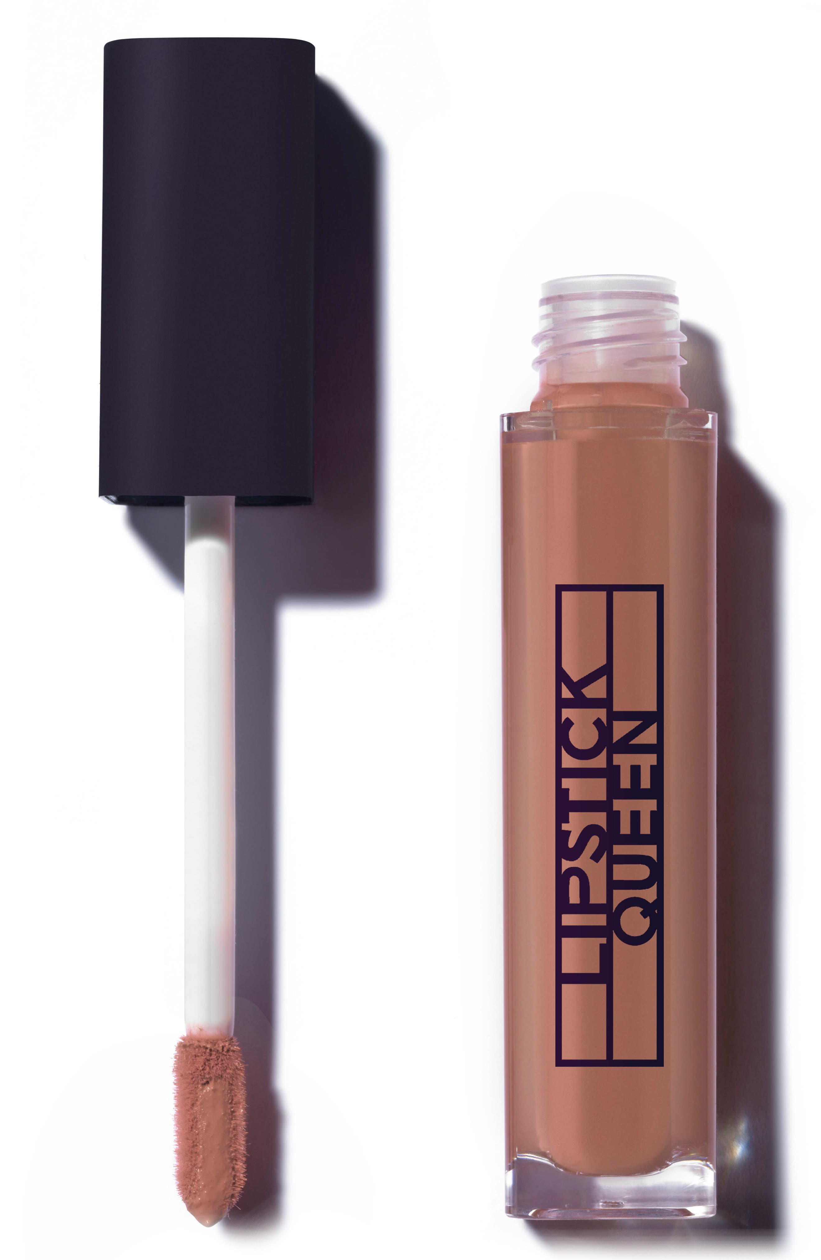 SPACE.NK.apothecary Lipstick Queen Famous Last Words Liquid Lipstick,                             Main thumbnail 1, color,                             SEE YA - NUDE