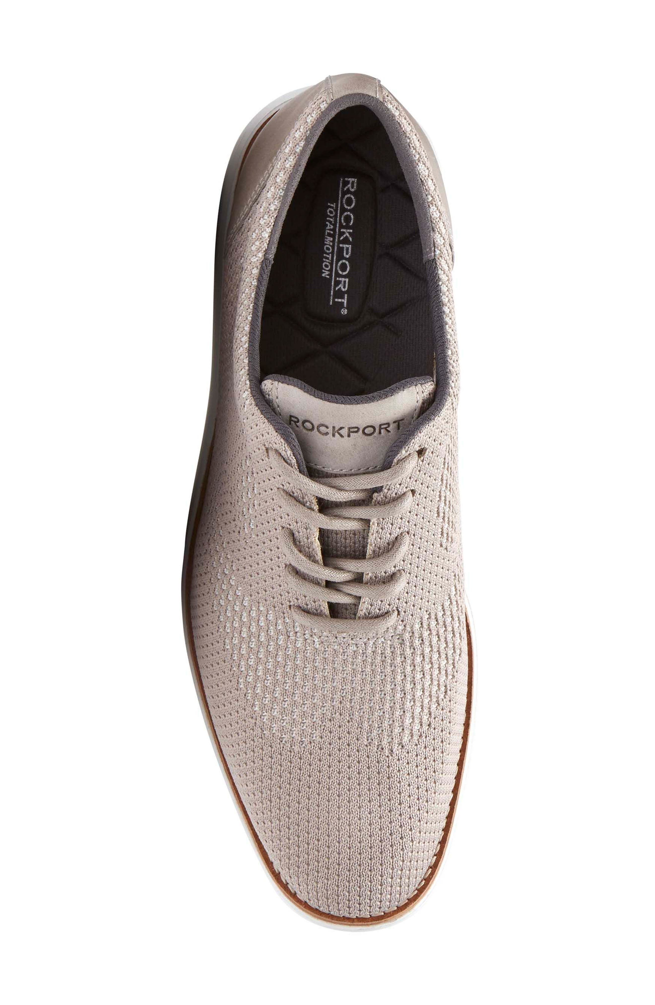Total Motion Sport Oxford,                             Alternate thumbnail 5, color,                             ROCKSAND LEATHER