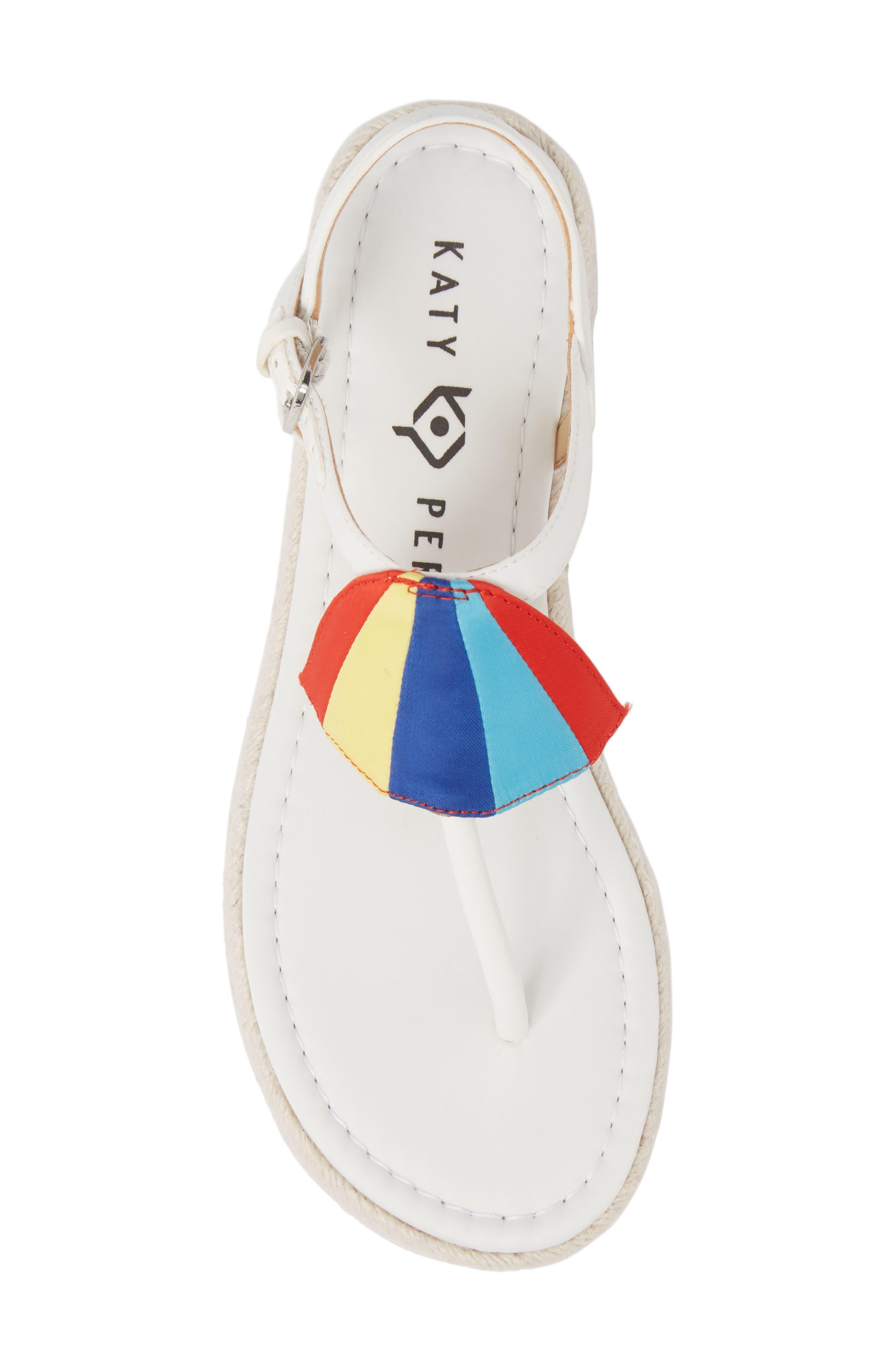 The Shay Espadrille Sandal,                             Alternate thumbnail 5, color,                             WHITE FABRIC