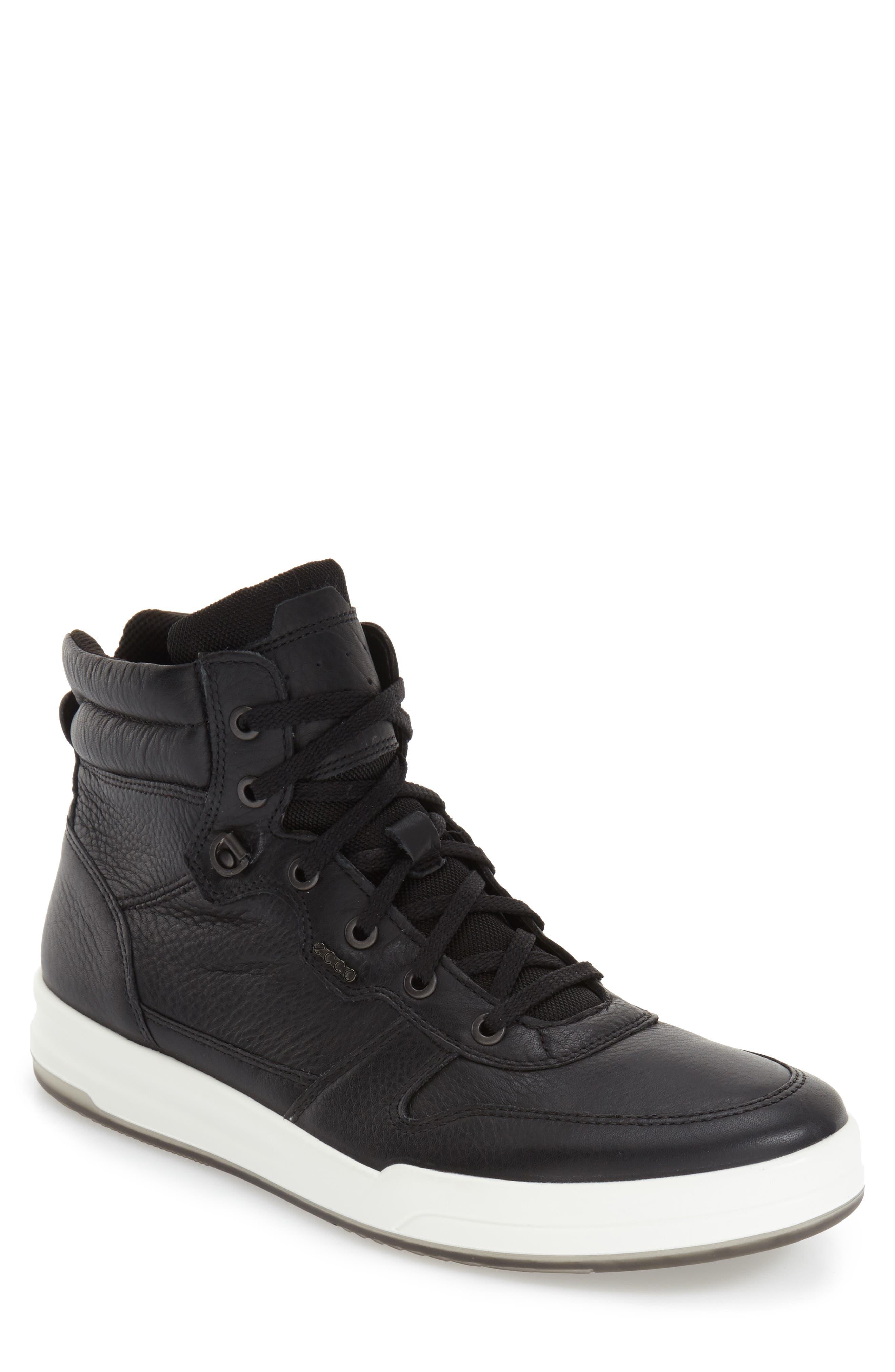 'Jack' High Top Sneaker,                             Alternate thumbnail 6, color,                             001