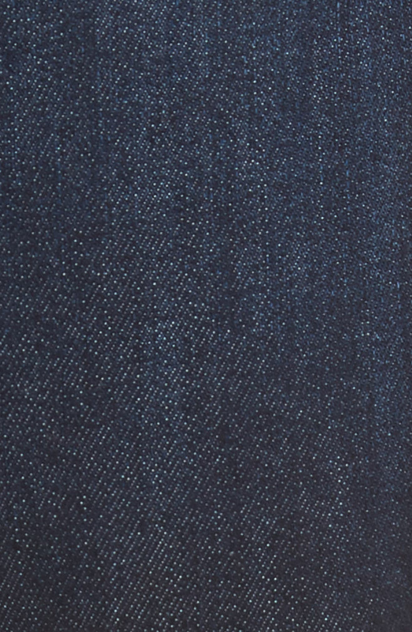 Classic Straight Fit Jeans,                             Alternate thumbnail 5, color,                             LUCAN