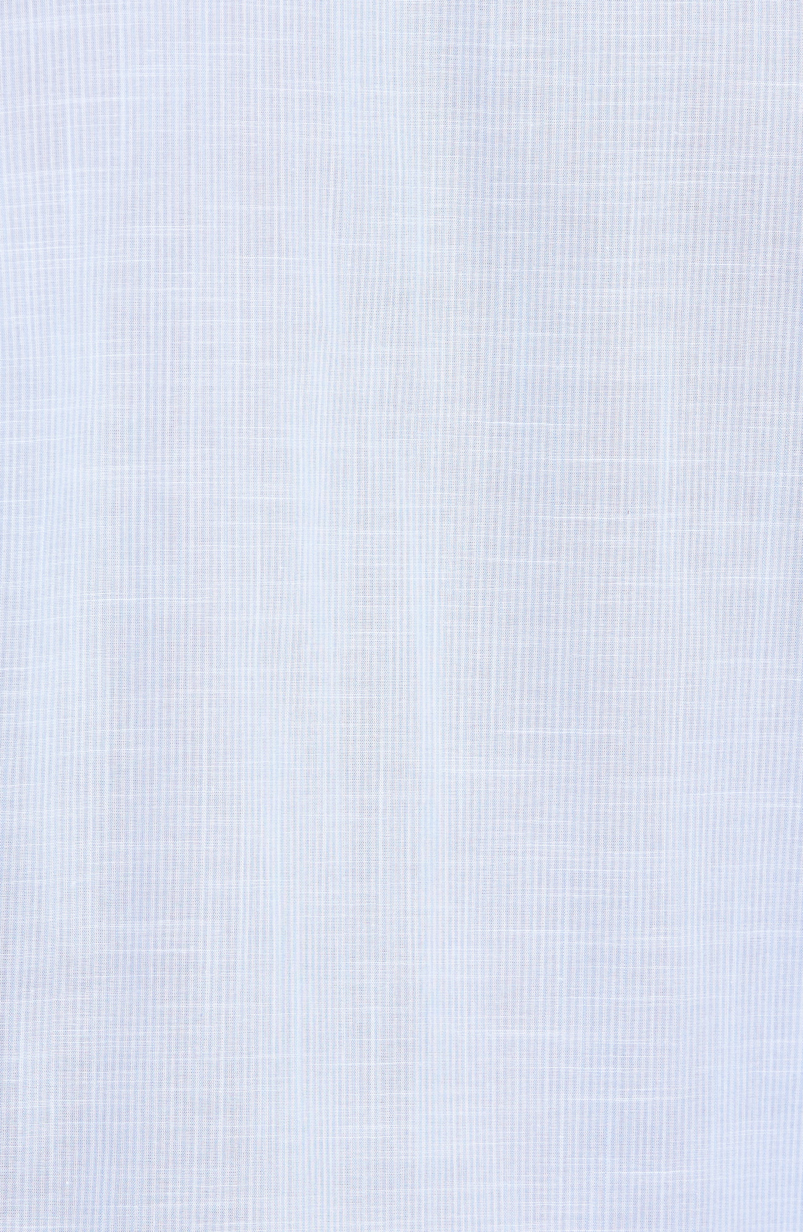 Ridley Slim Fit Texture Sport Shirt,                             Alternate thumbnail 5, color,