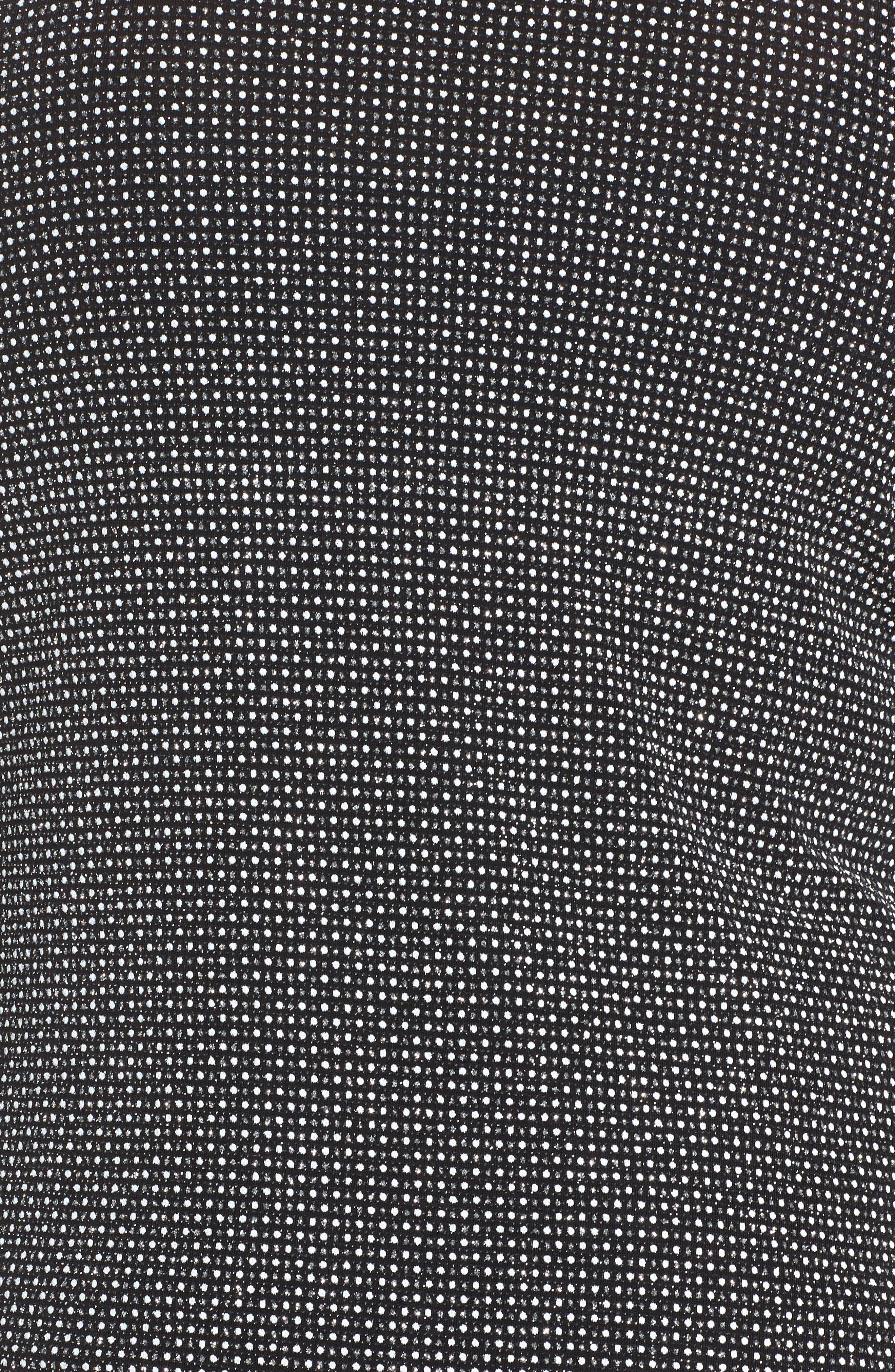 Print Metallic Knit Twinset,                             Alternate thumbnail 3, color,                             006