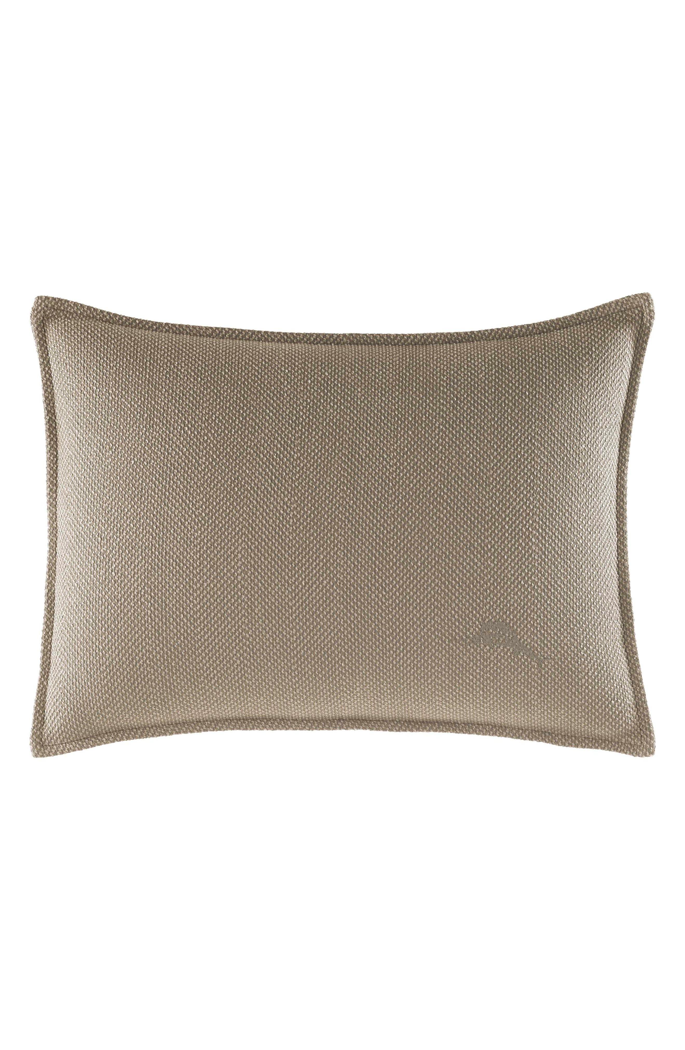 Raffia Palms Pillow,                             Main thumbnail 1, color,                             020