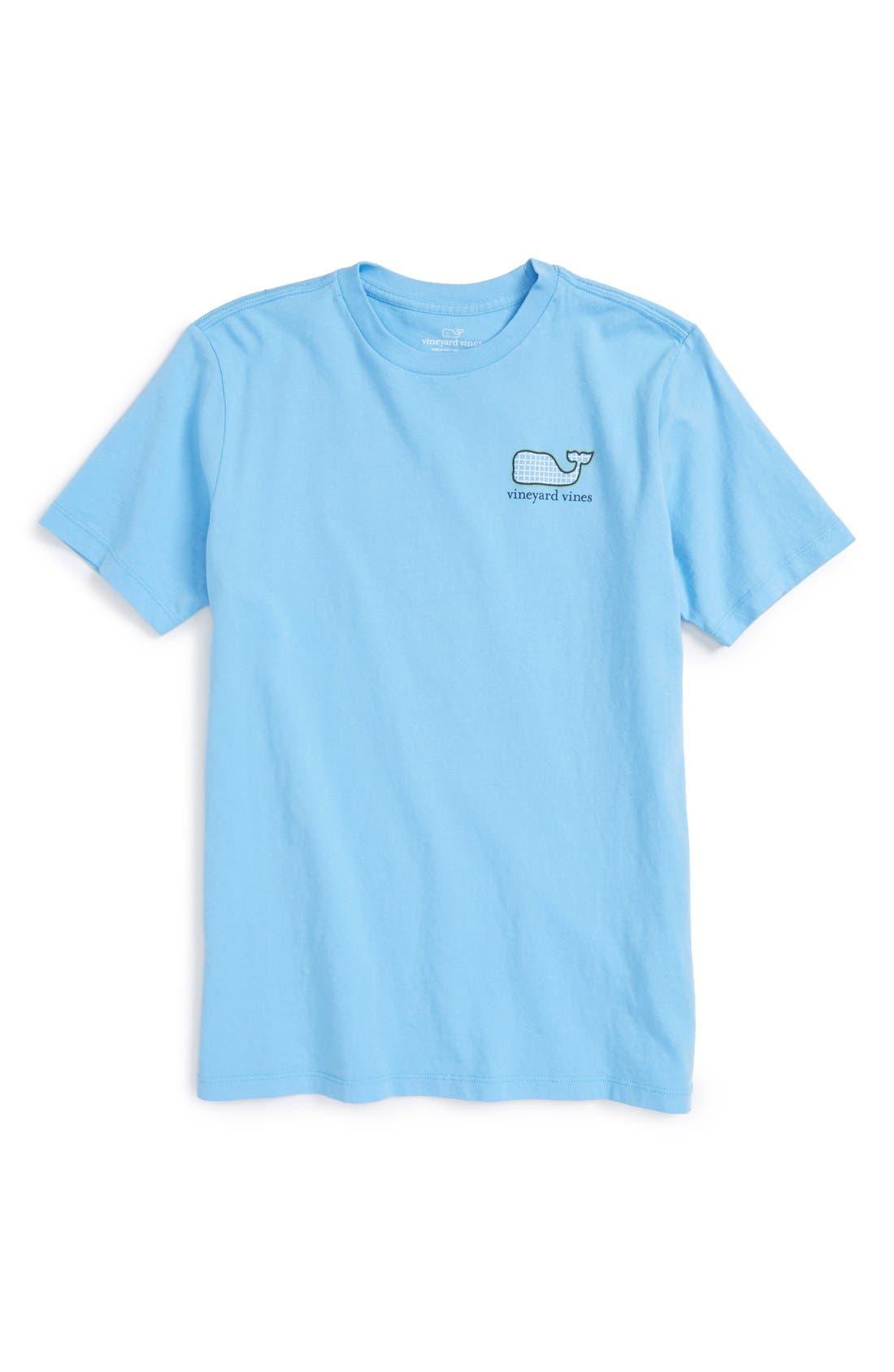 VINEYARD VINES 'Tennis Racquet' Graphic T-Shirt, Main, color, 484