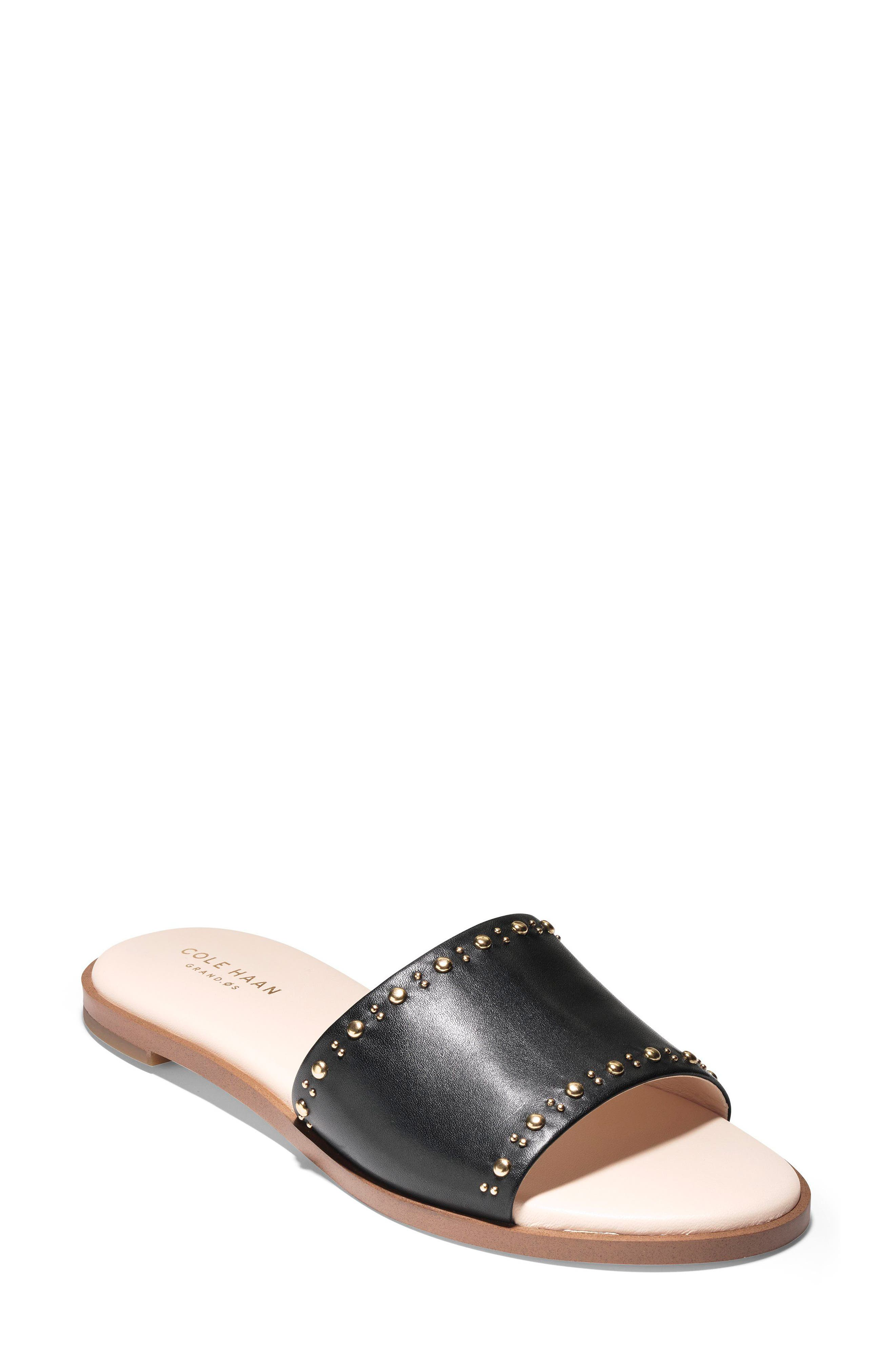 Anica Slide Sandal,                         Main,                         color, 001