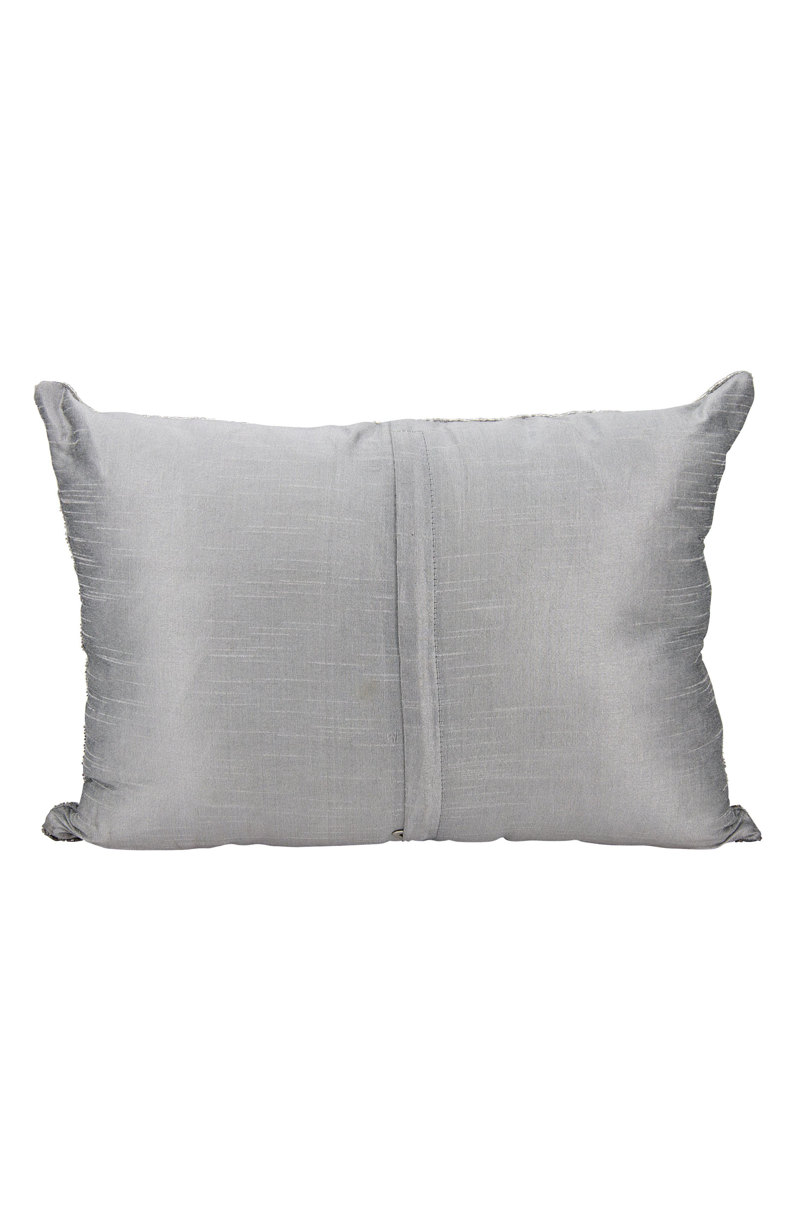 Beaded Accent Pillow,                             Alternate thumbnail 2, color,                             041
