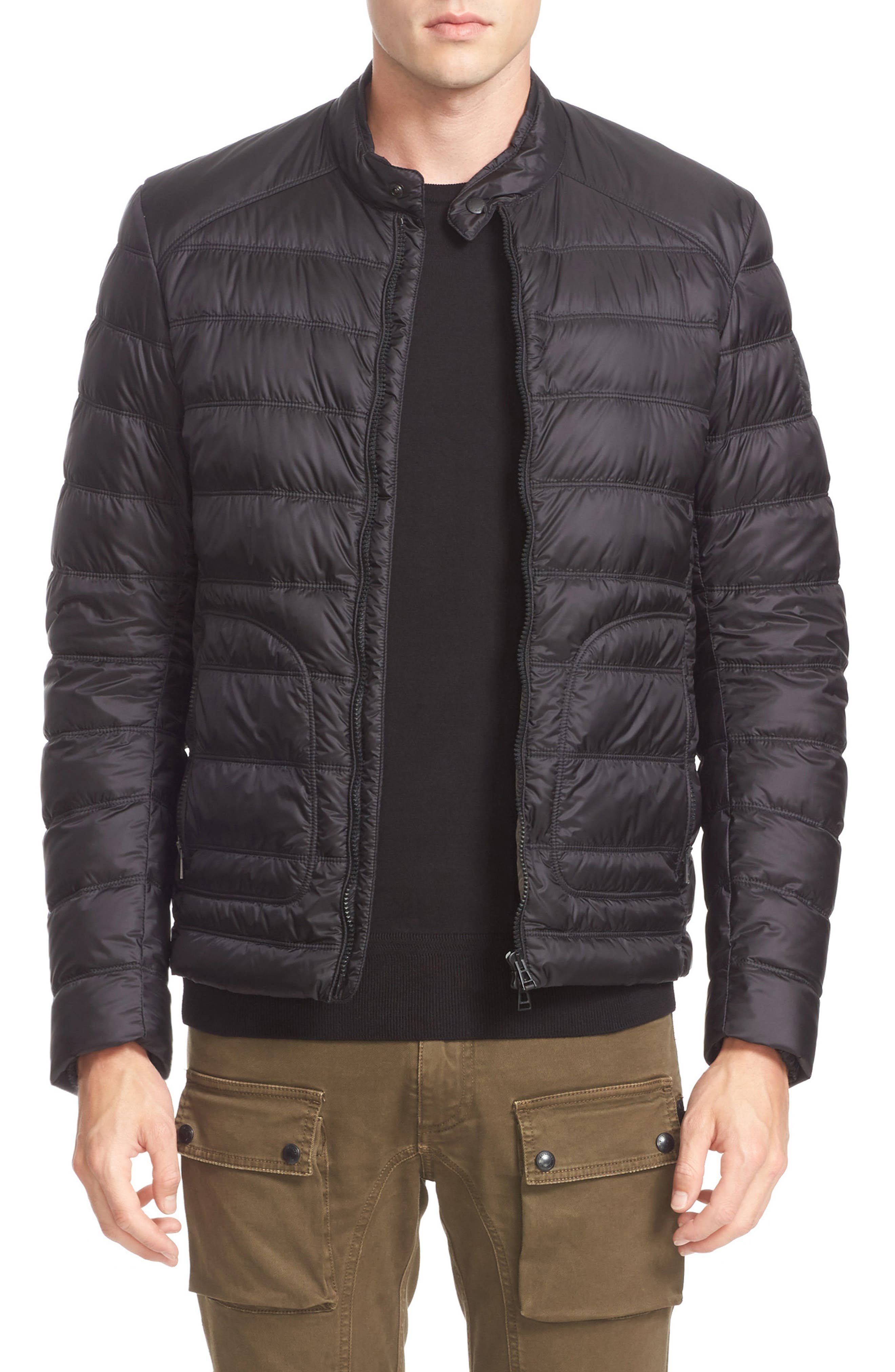 Halewood Quilted Down Jacket,                             Main thumbnail 1, color,                             001