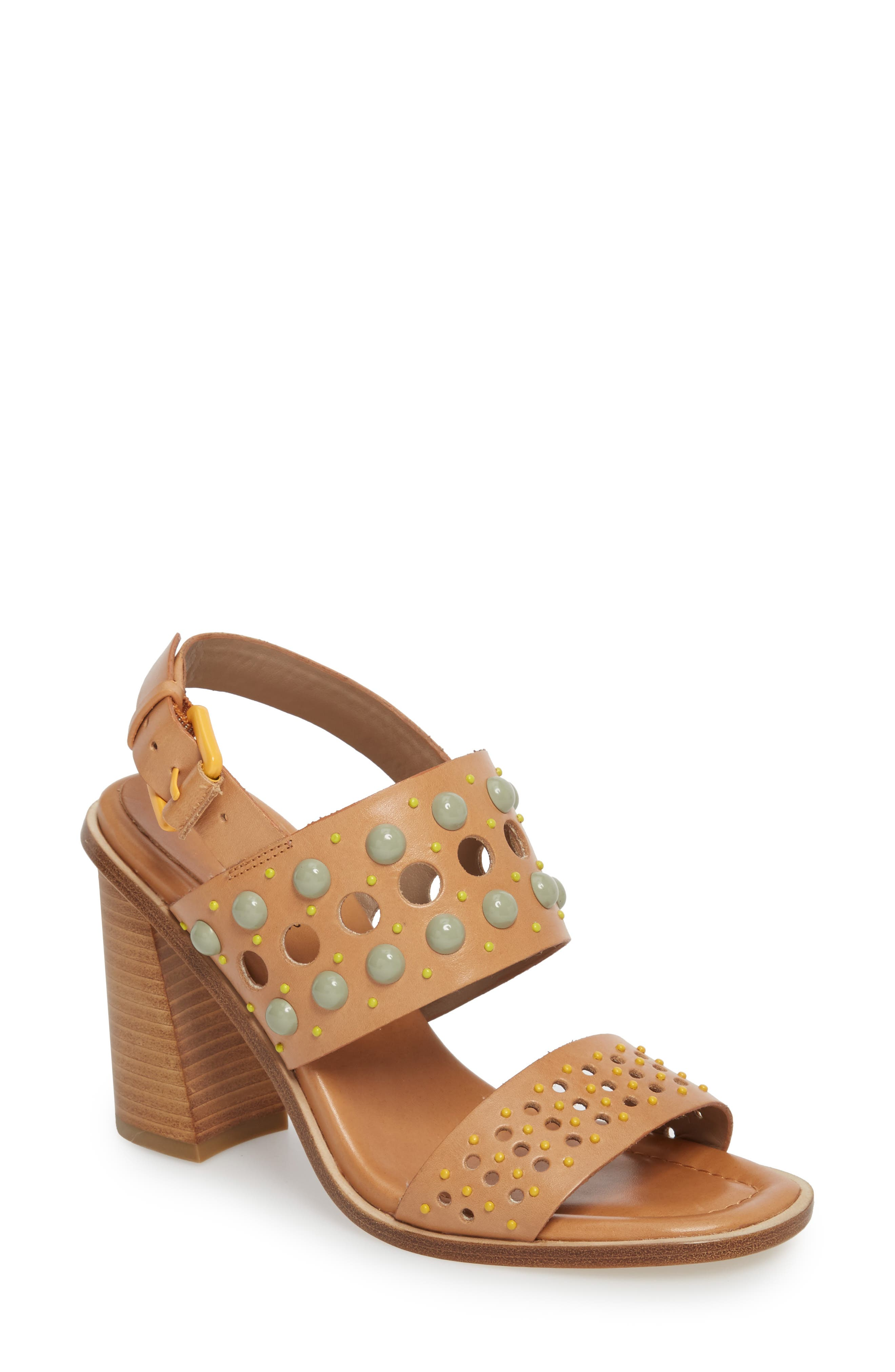 Estee Studded Sandal,                             Main thumbnail 2, color,