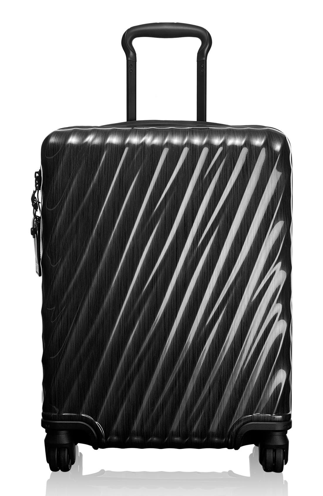 19 Degree 22 Inch Continental Wheeled Carry-On,                             Main thumbnail 1, color,                             001