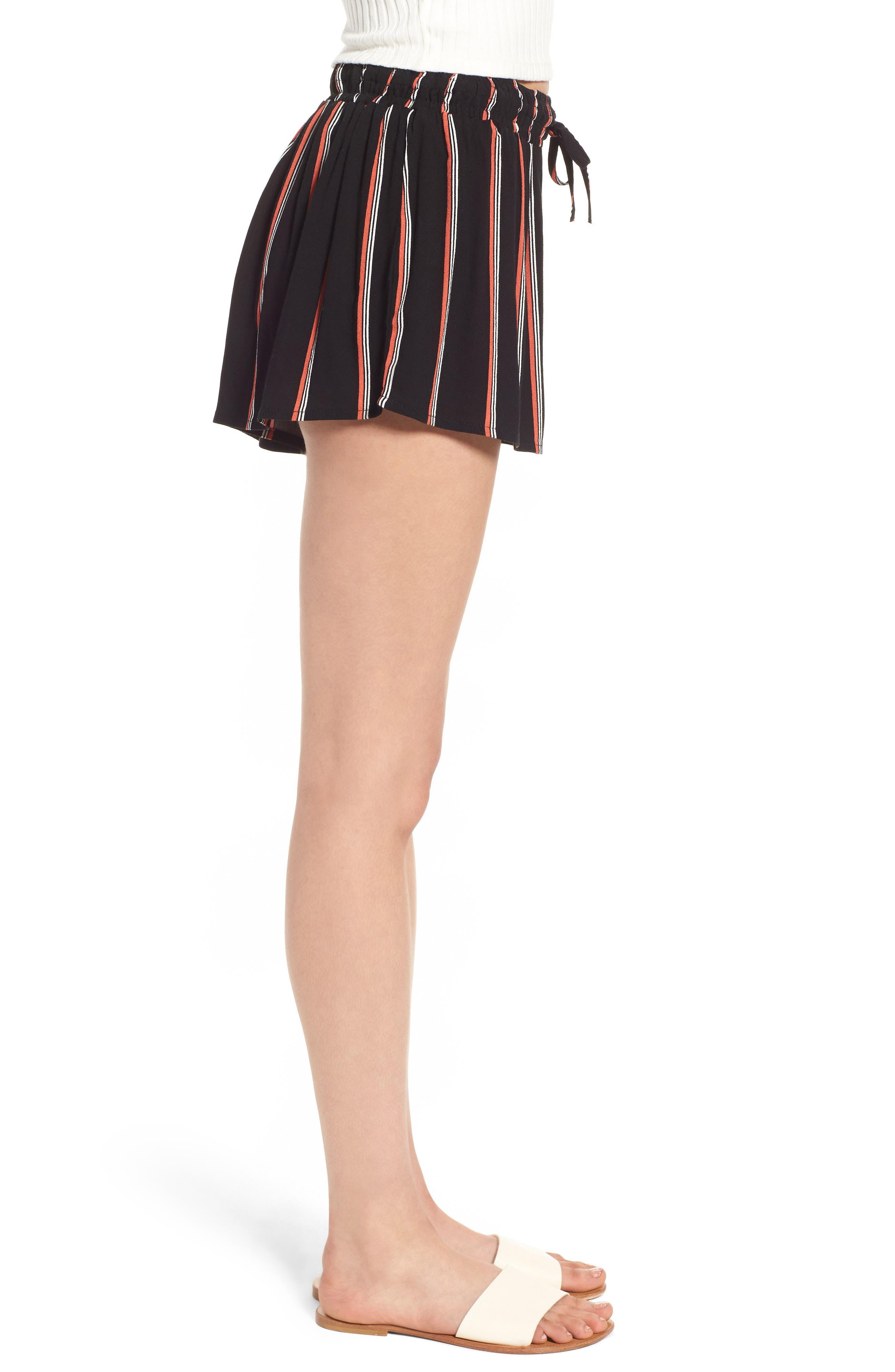 Juniper Stripe Shorts,                             Alternate thumbnail 3, color,                             001
