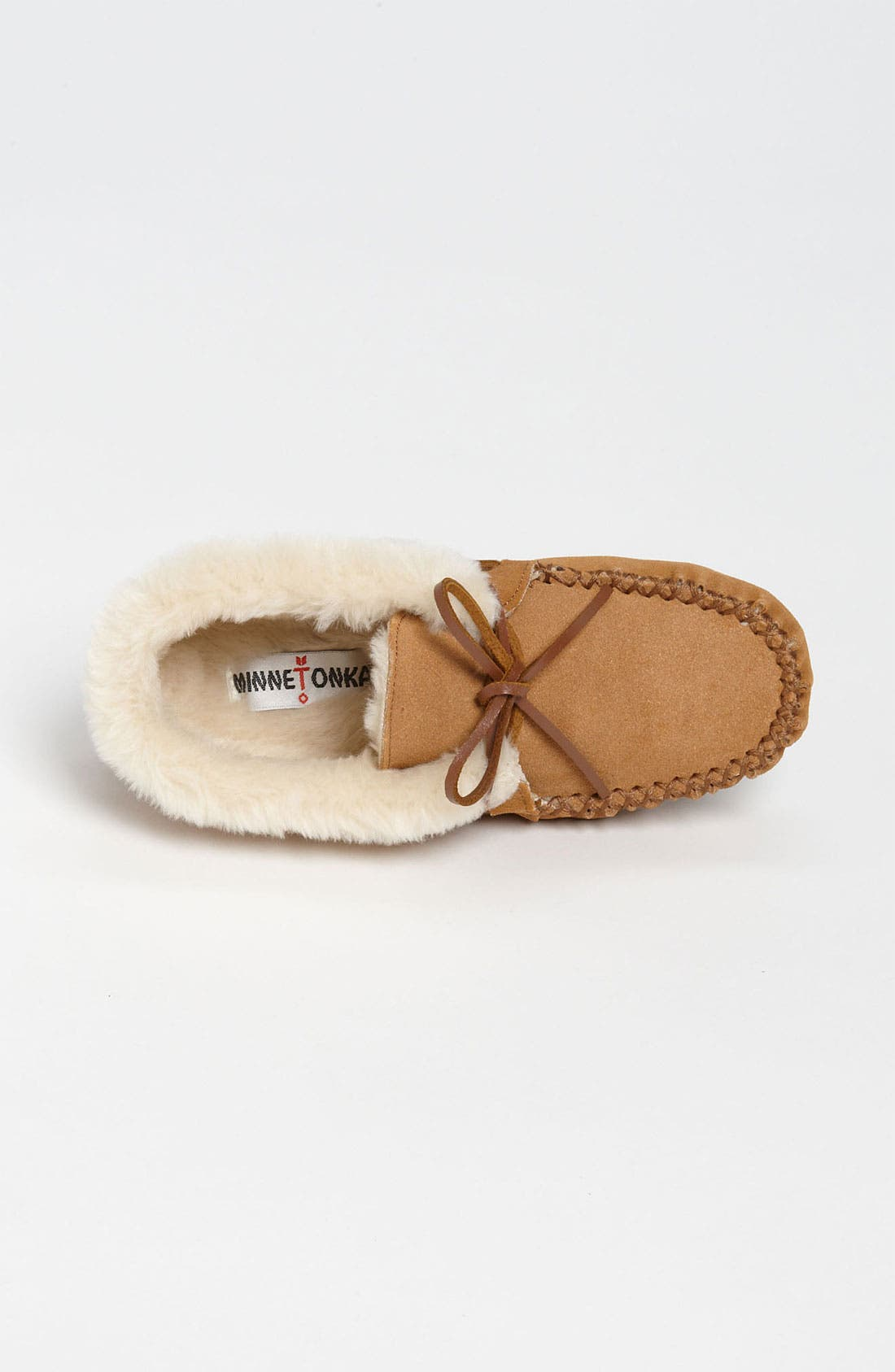 'Chrissy' Slipper Bootie,                             Alternate thumbnail 9, color,                             CINNAMON SUEDE