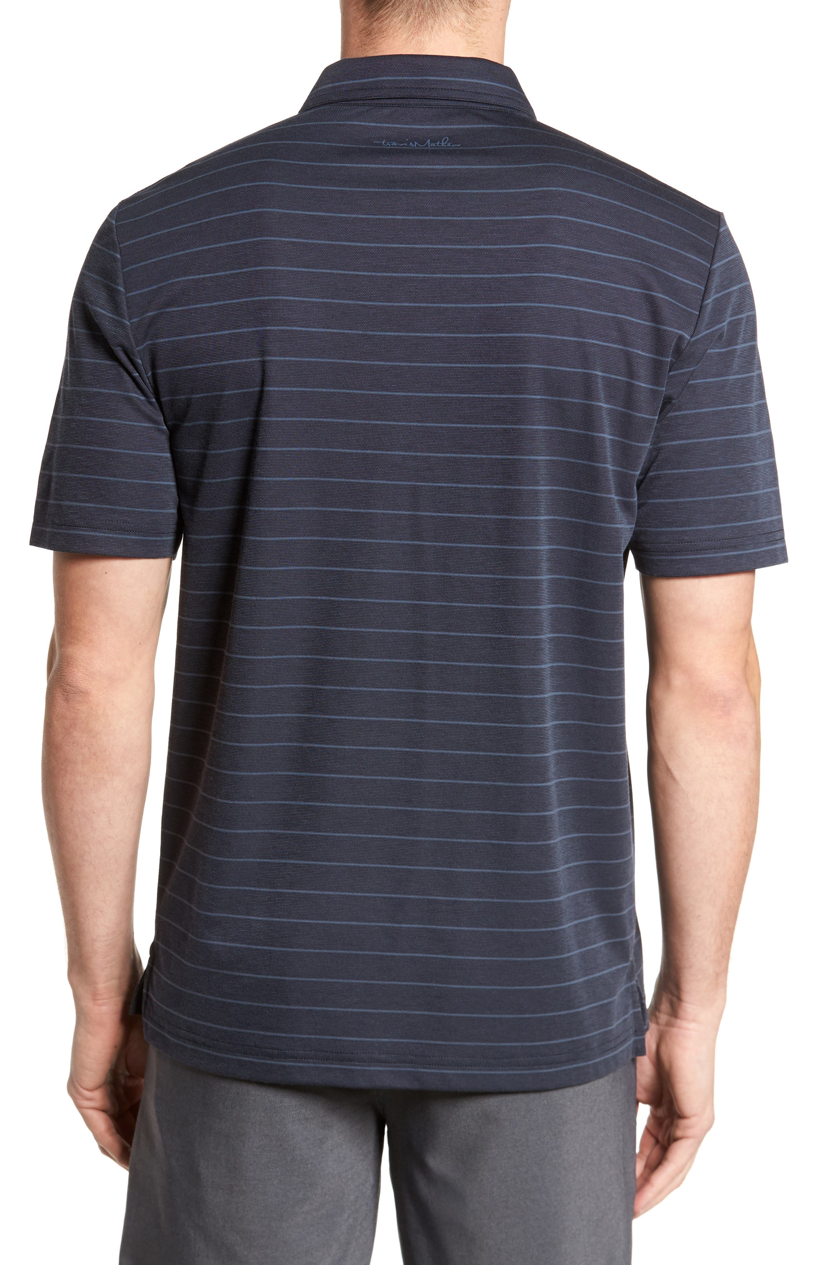 Marini Polo Shirt,                             Alternate thumbnail 2, color,                             BLUE NIGHTS/ ALLURE
