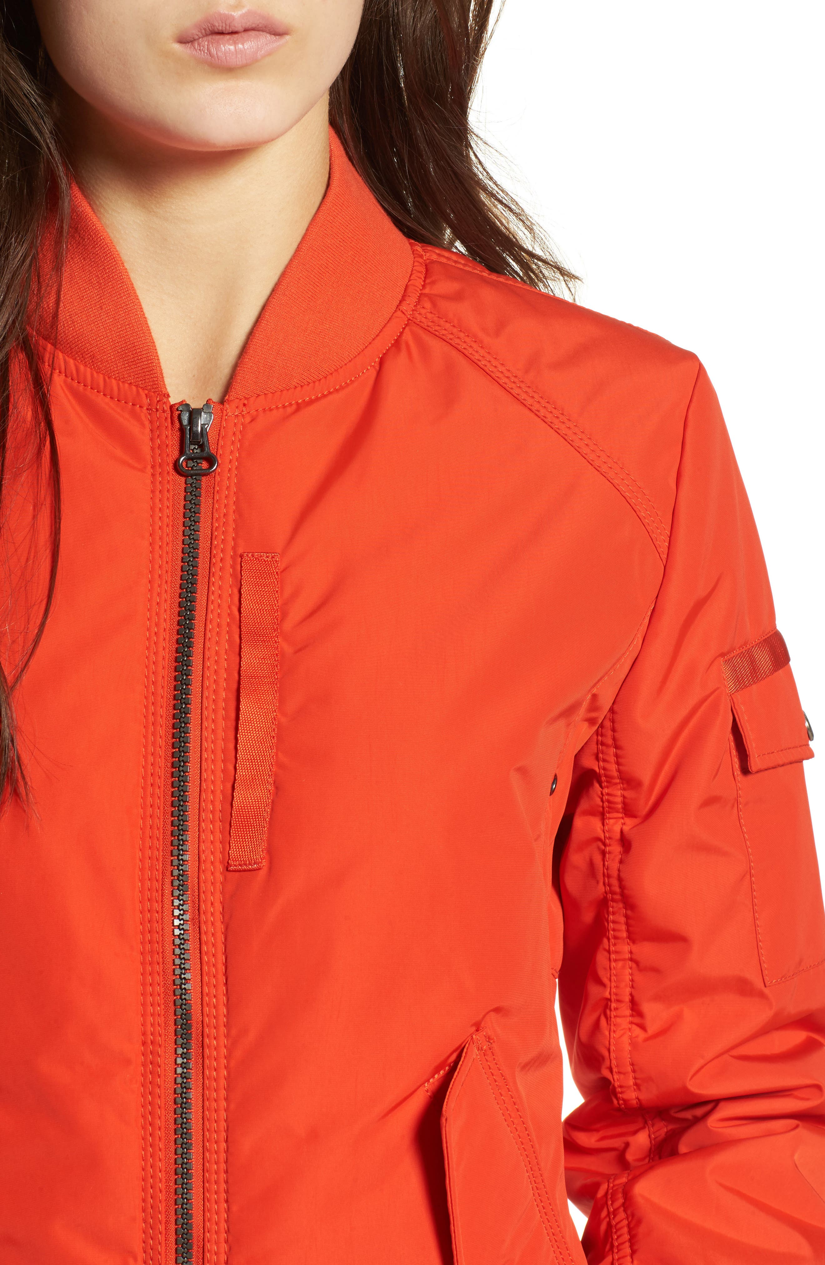 Foster Nylon Twill Bomber Jacket,                             Alternate thumbnail 16, color,