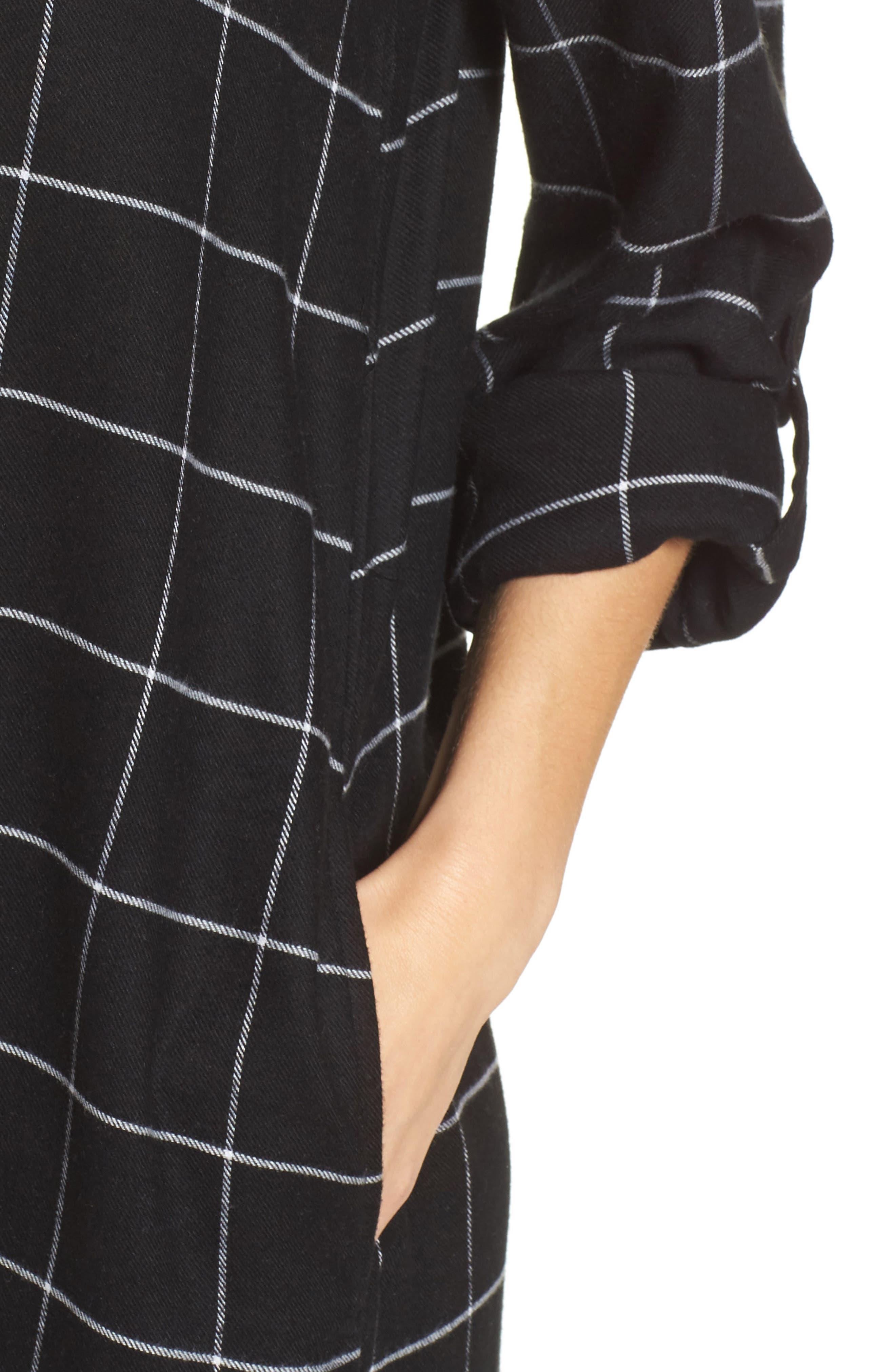 Maxi Sleep Shirt,                             Alternate thumbnail 4, color,                             001