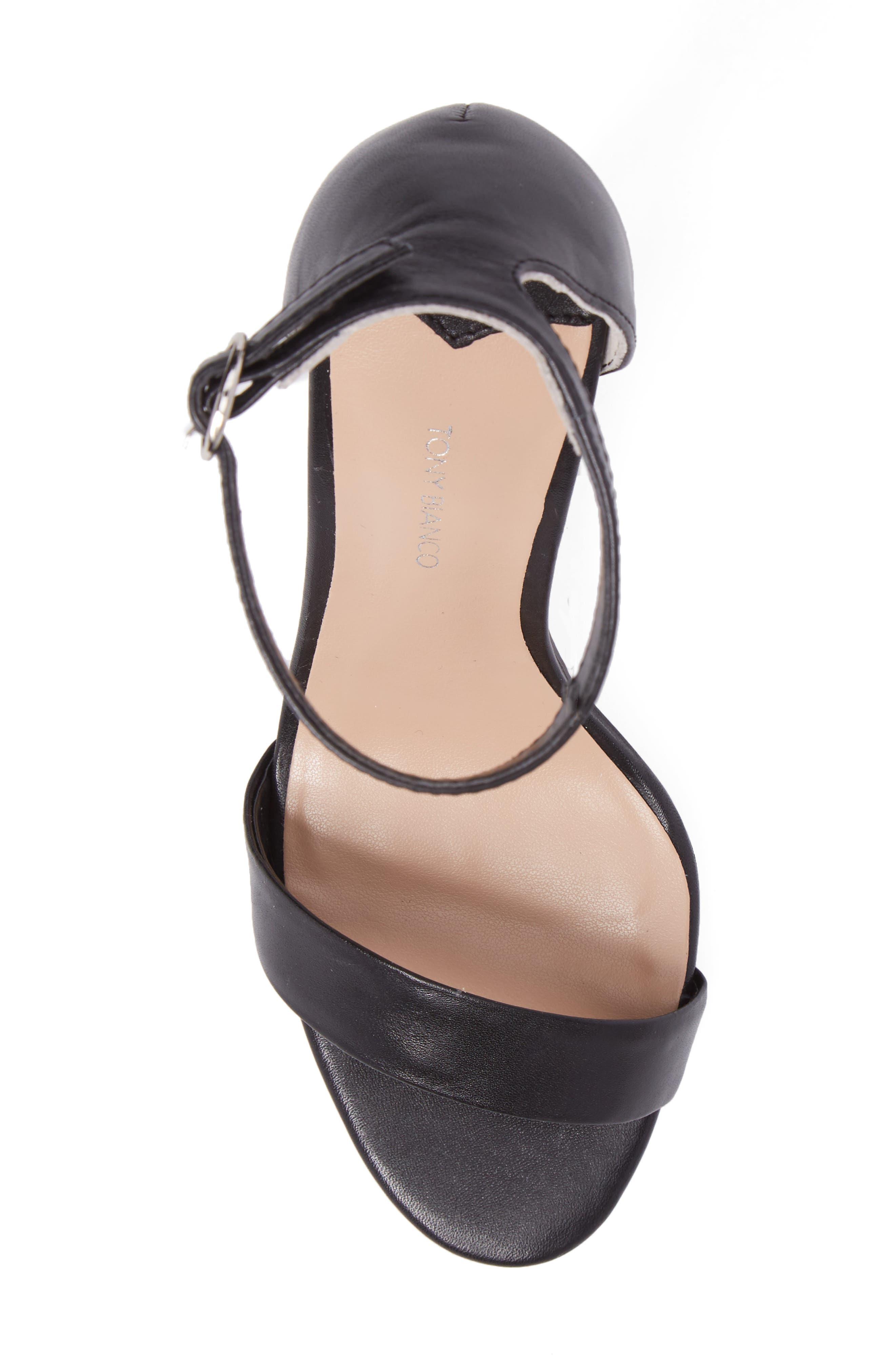 Karvan Ankle Strap Sandal,                             Alternate thumbnail 5, color,                             002