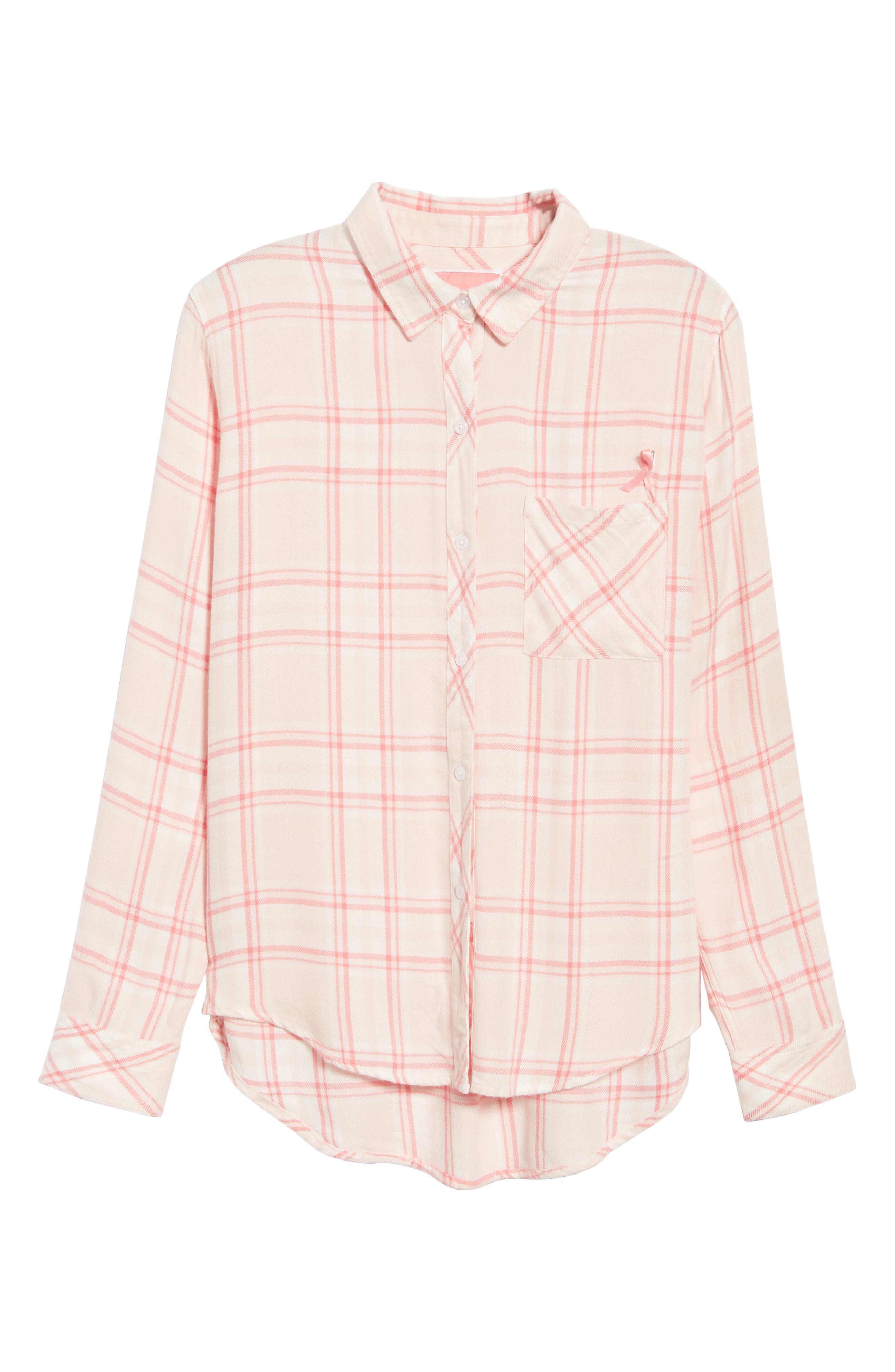 Hunter Plaid Shirt,                             Alternate thumbnail 6, color,                             675