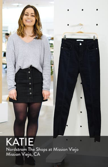 The Stiletto Pintuck High Rise Skinny Jeans, sales video thumbnail