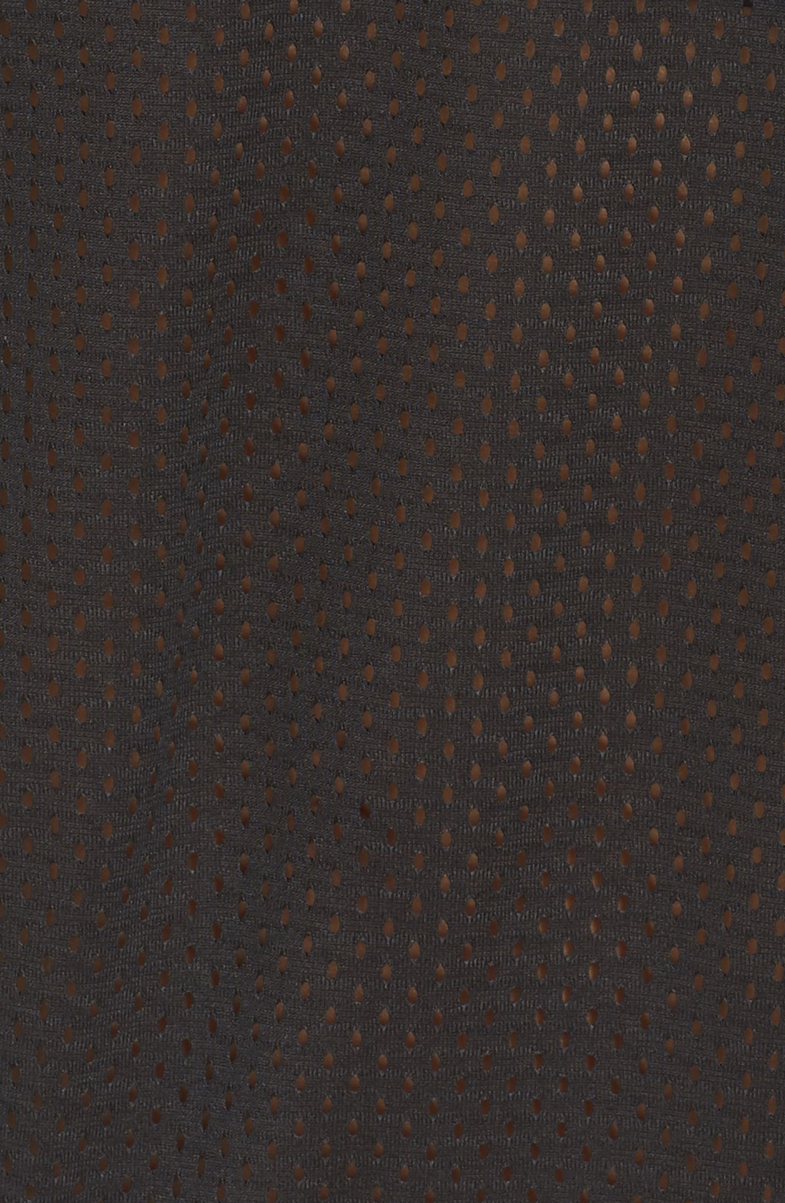 Essentials Mesh Sweatshirt,                             Alternate thumbnail 6, color,                             001