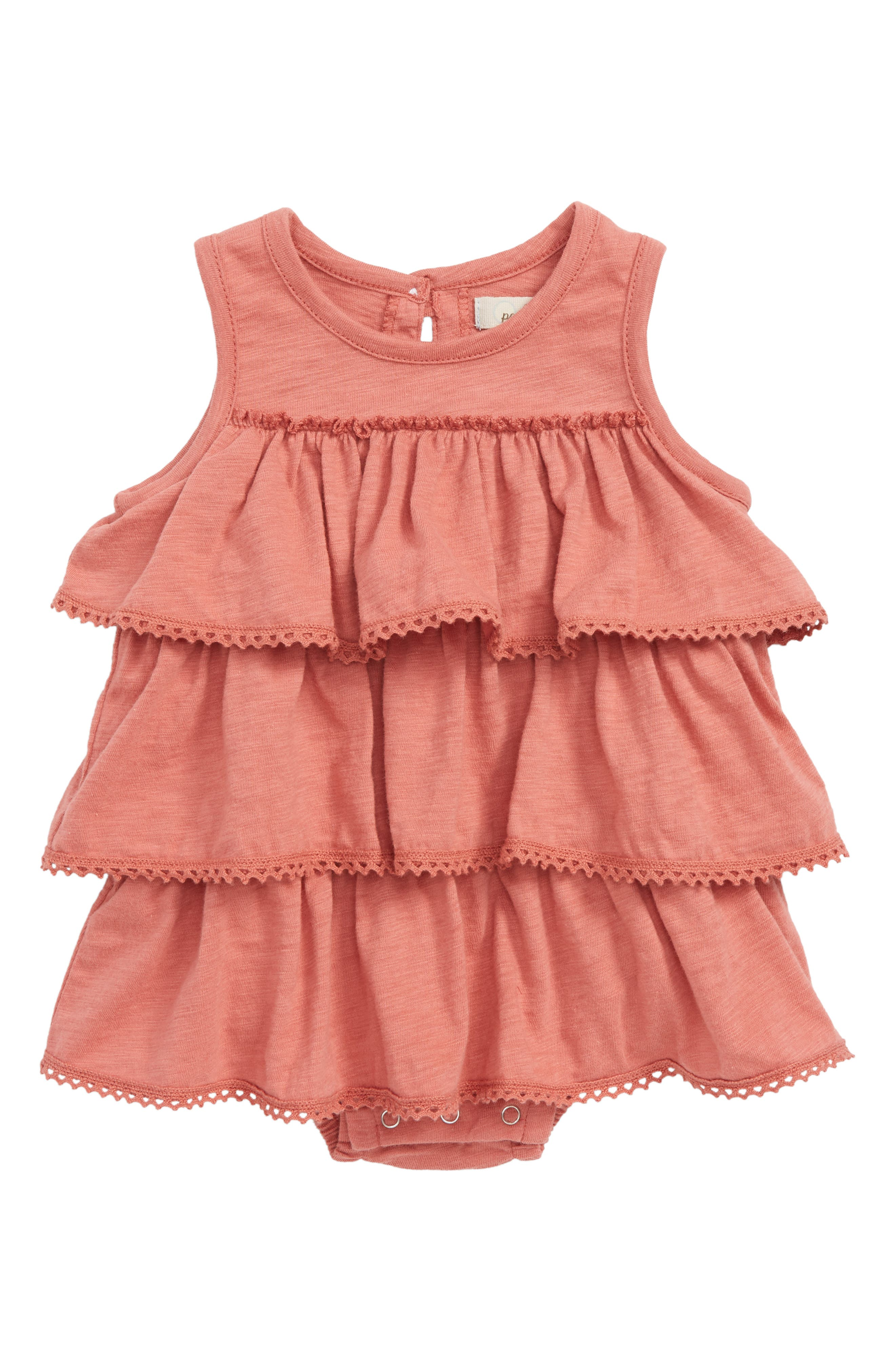 Peek Chloe Tiered Ruffle Bodysuit,                         Main,                         color, 652