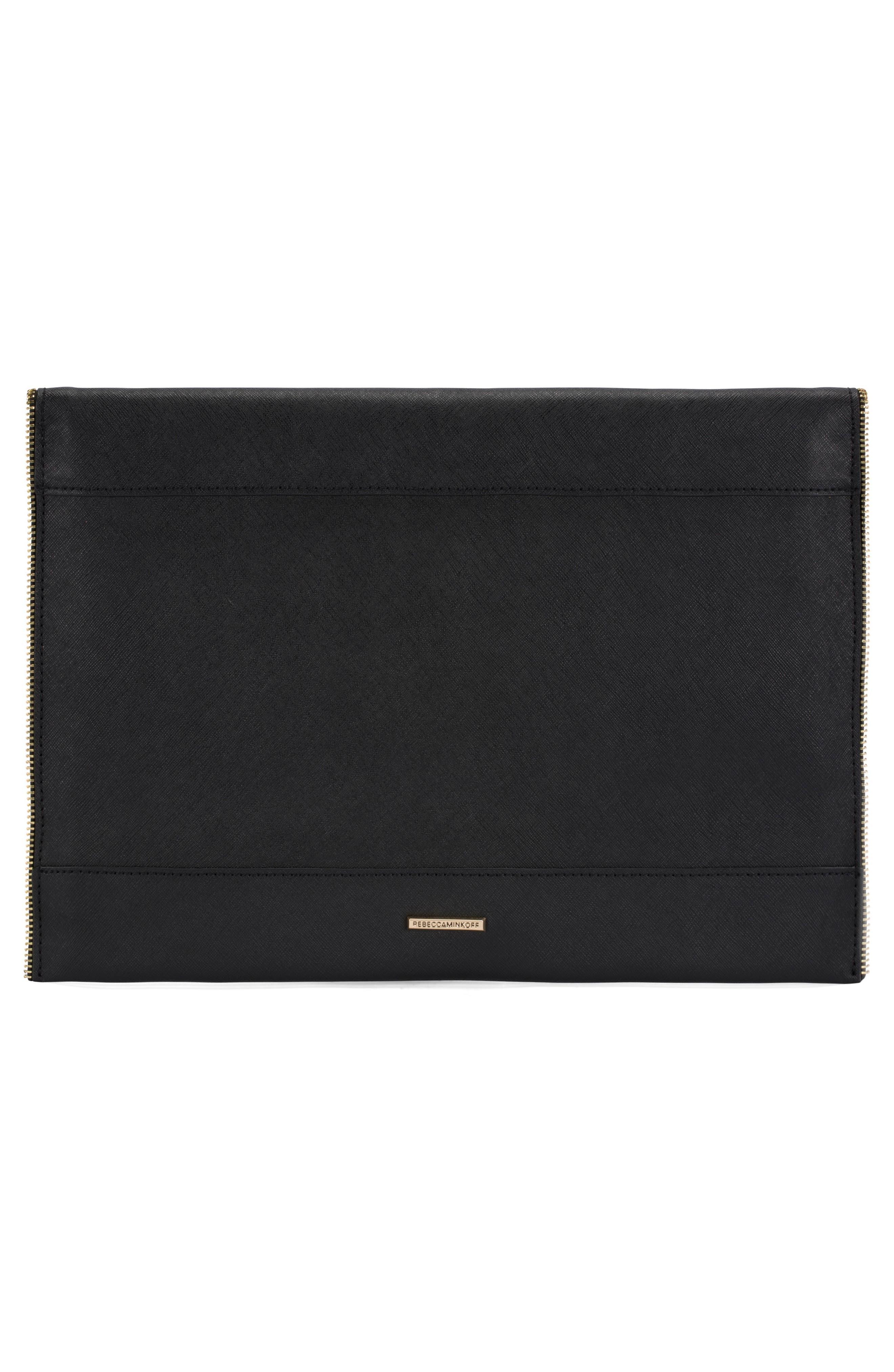 Leo Leather 13-Inch Laptop Case,                             Alternate thumbnail 2, color,                             001