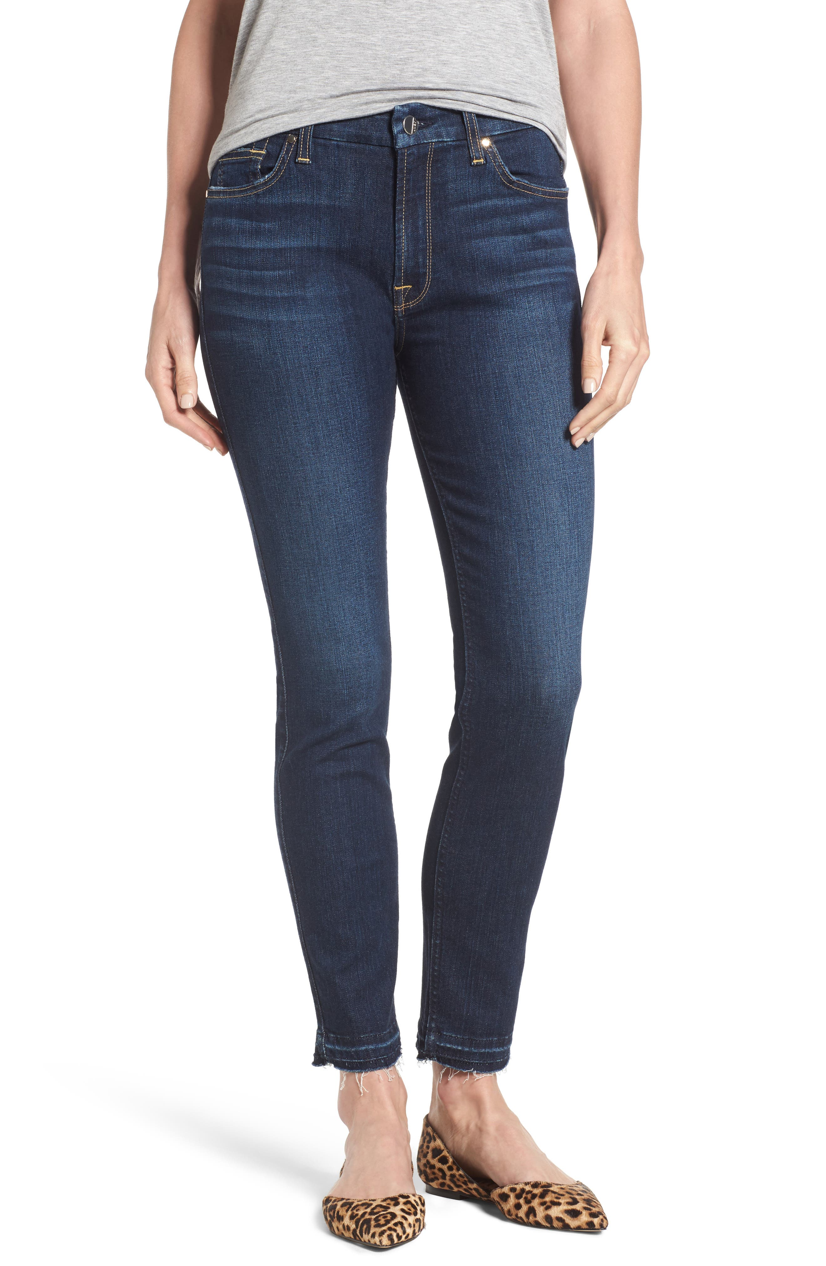 Release Hem Stretch Ankle Skinny Jeans,                             Main thumbnail 3, color,