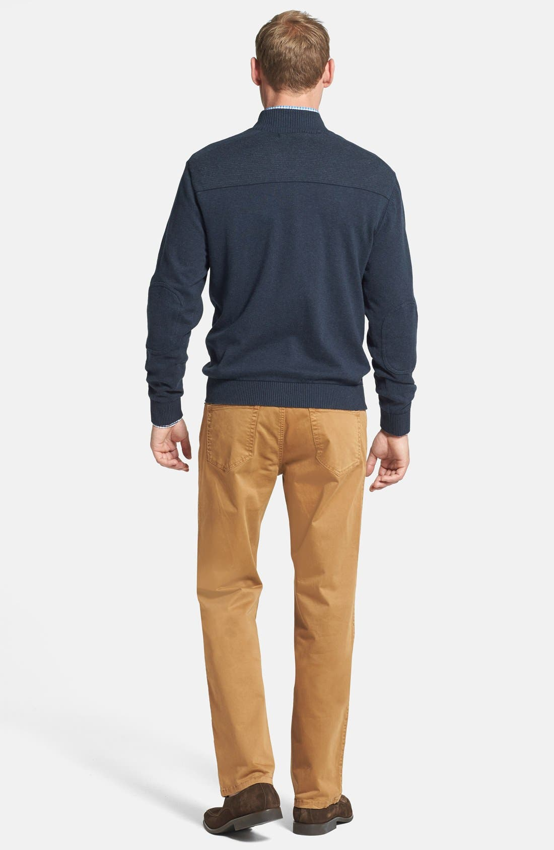 CUTTER & BUCK,                             Broadview Half Zip Sweater,                             Alternate thumbnail 5, color,                             480