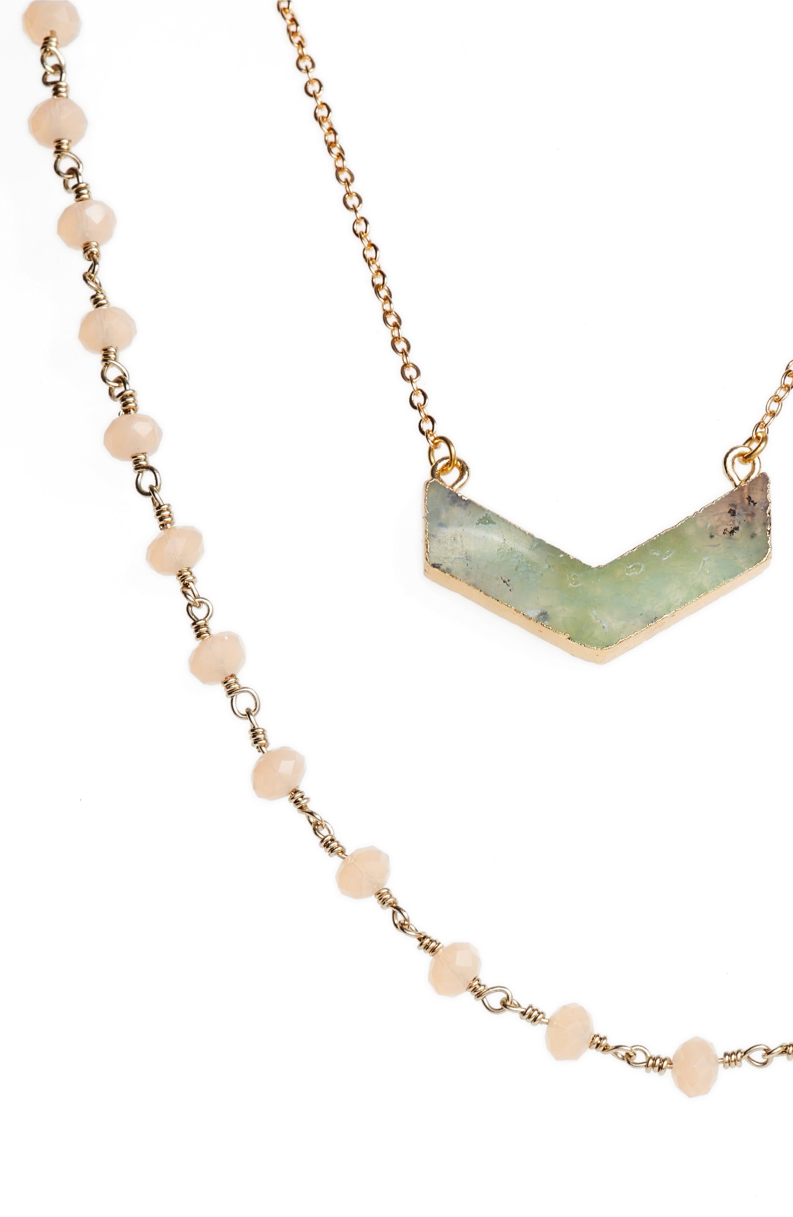Julia Double Strand Necklace,                             Alternate thumbnail 8, color,