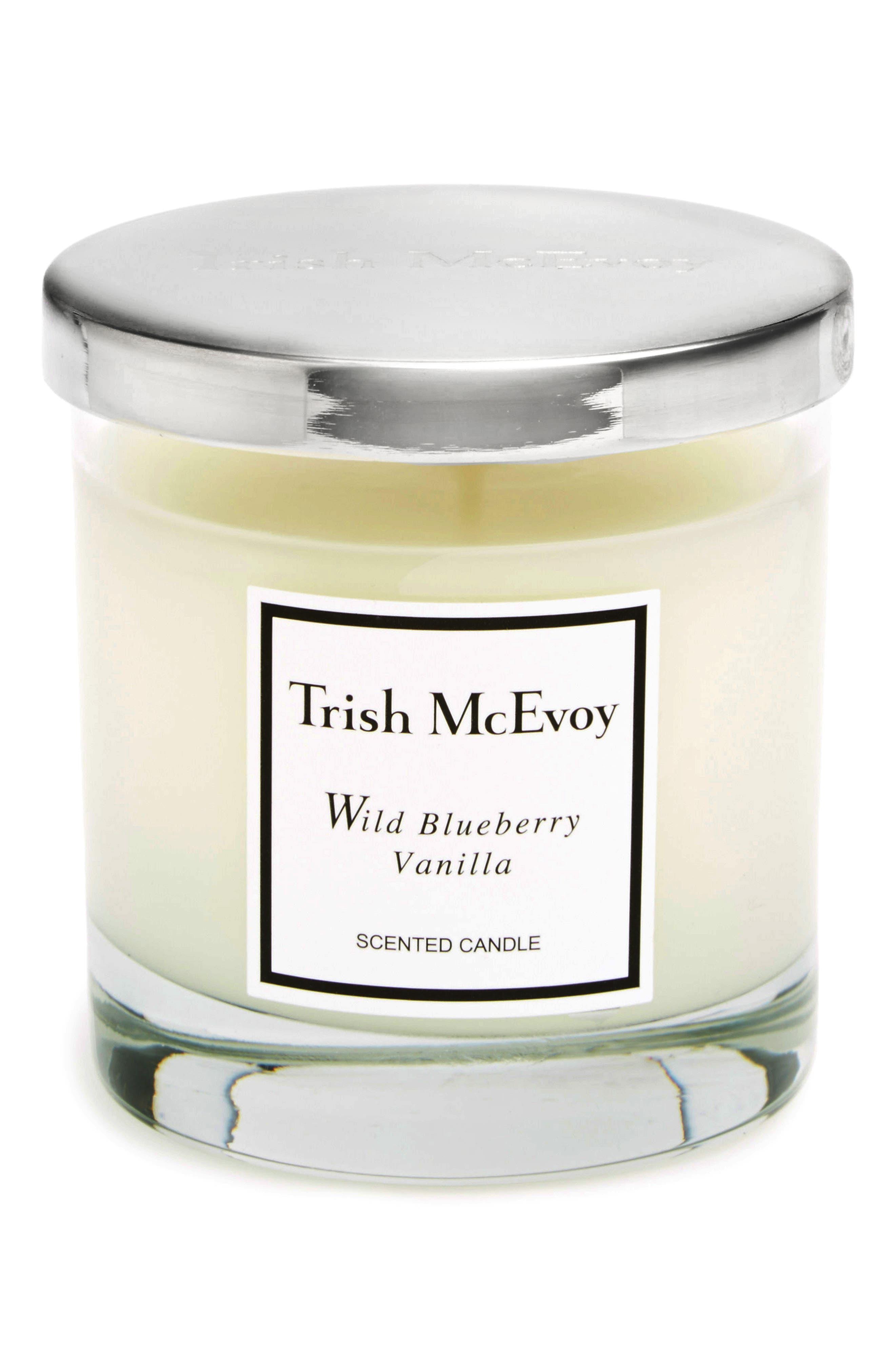 Wild Blueberry Vanilla Candle,                             Main thumbnail 1, color,                             NO COLOR