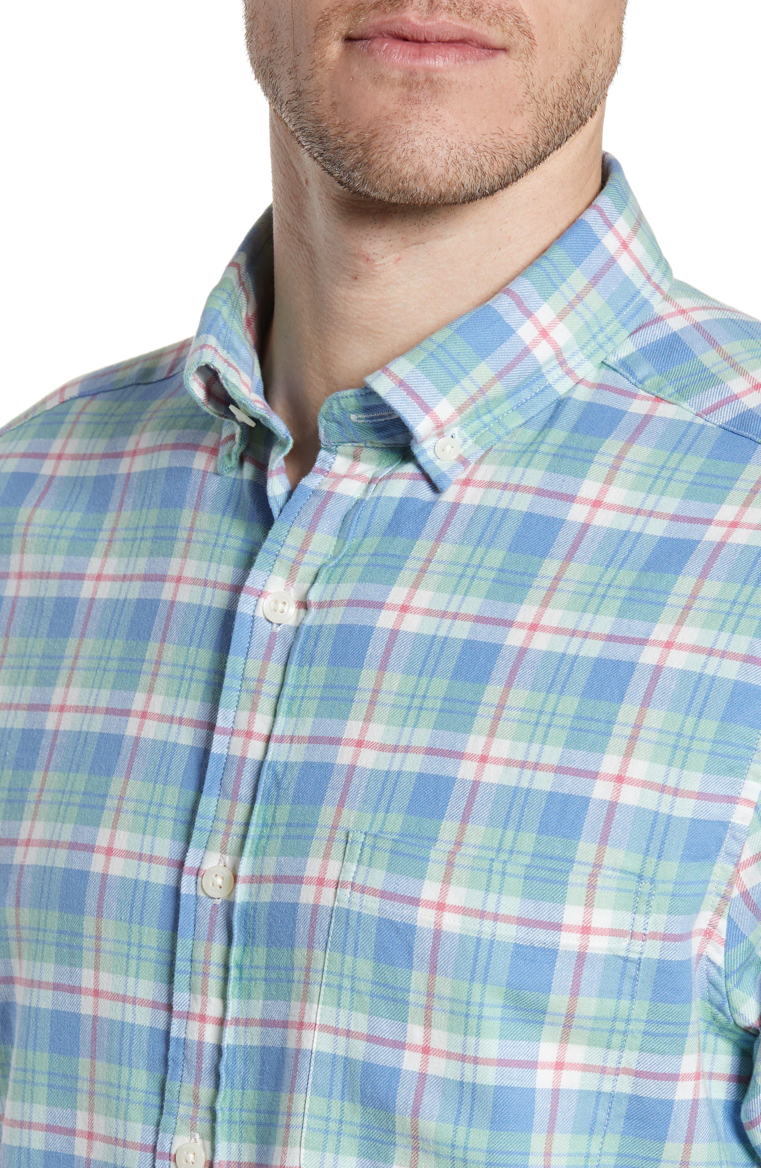 VINEYARD VINES,                             Murray Slim Fit Twill Sport Shirt,                             Alternate thumbnail 2, color,                             SEA KELP