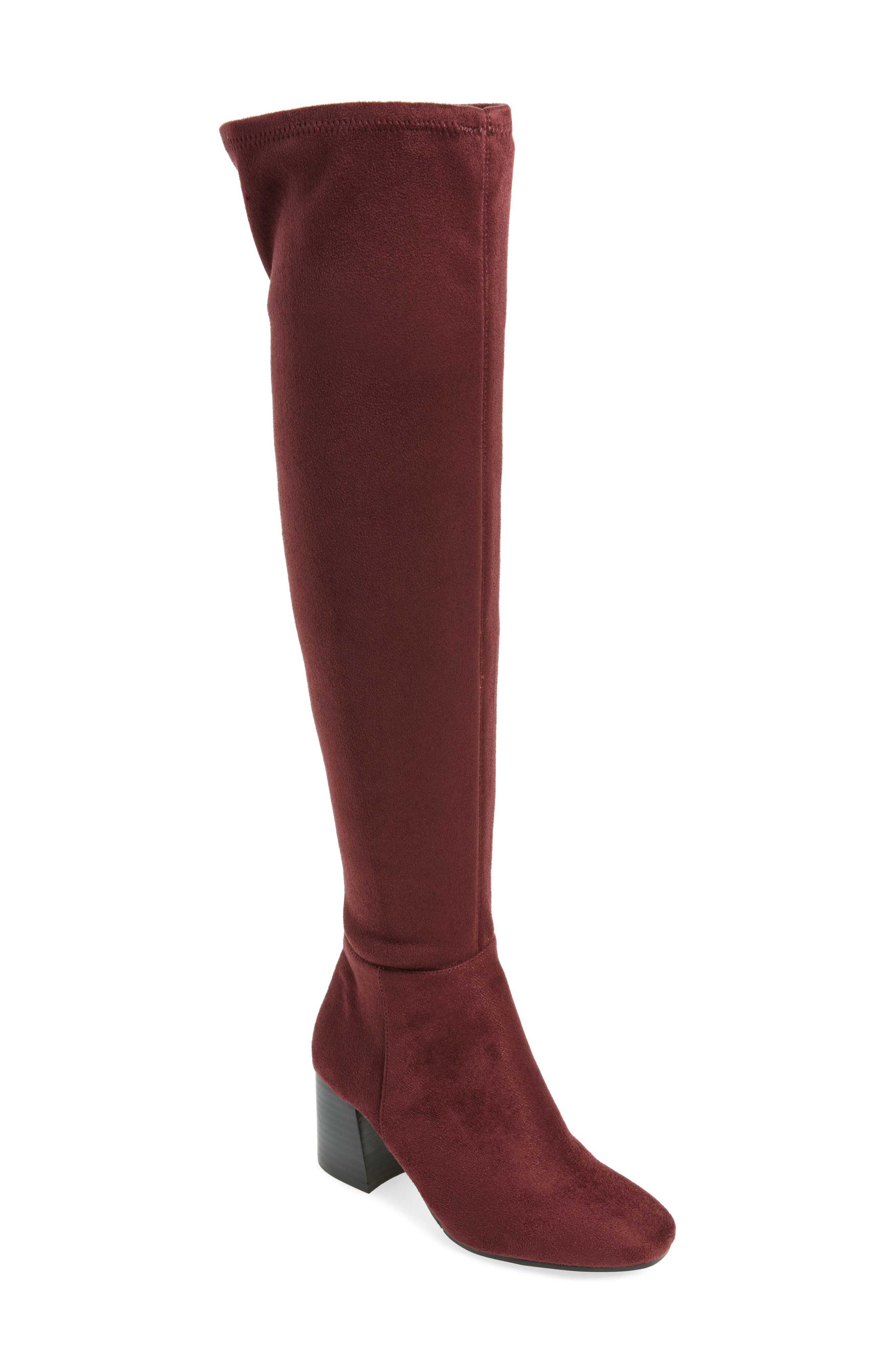 Kantha Over the Knee Boot,                             Main thumbnail 4, color,