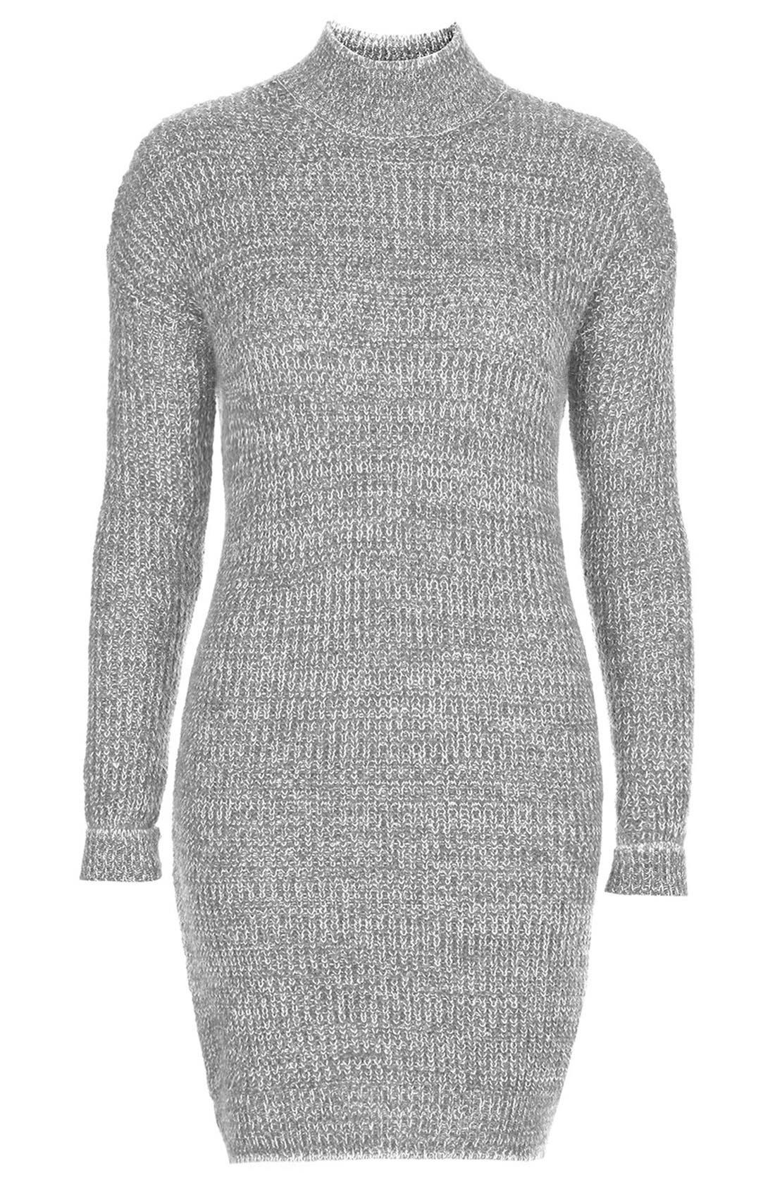 Sweater Dress,                             Alternate thumbnail 2, color,                             020