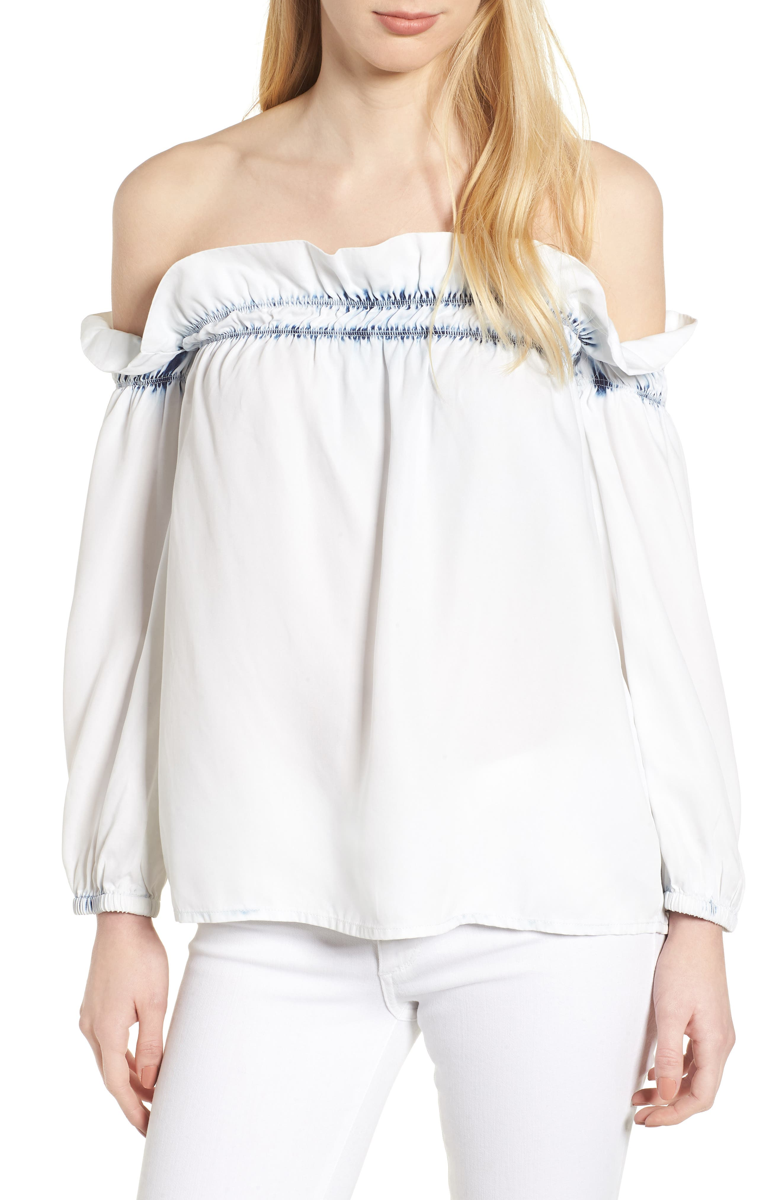 Little W 12th Off the Shoulder Top,                         Main,                         color, 429