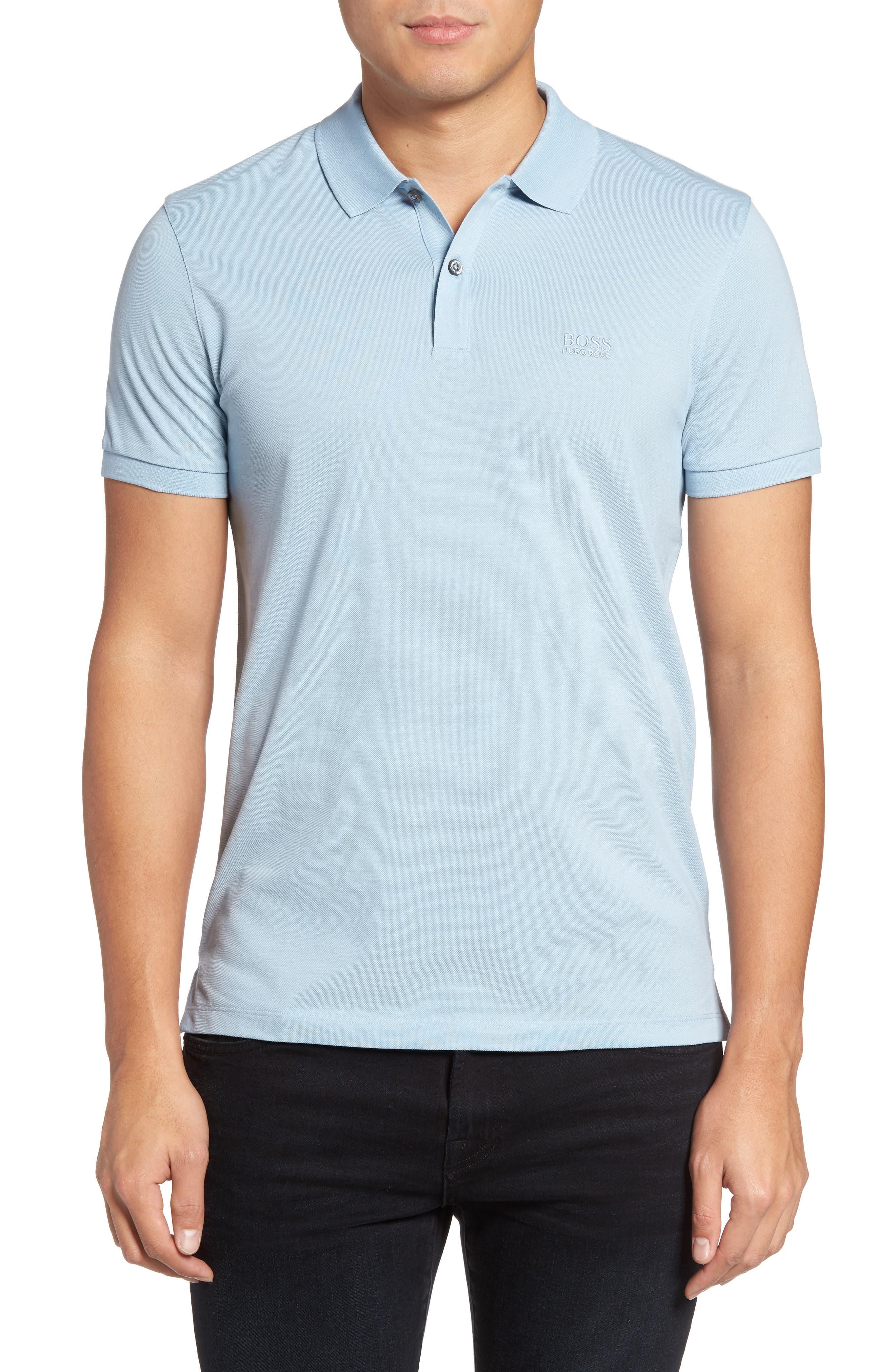 'Pallas' Regular Fit Logo Embroidered Polo Shirt,                             Main thumbnail 13, color,