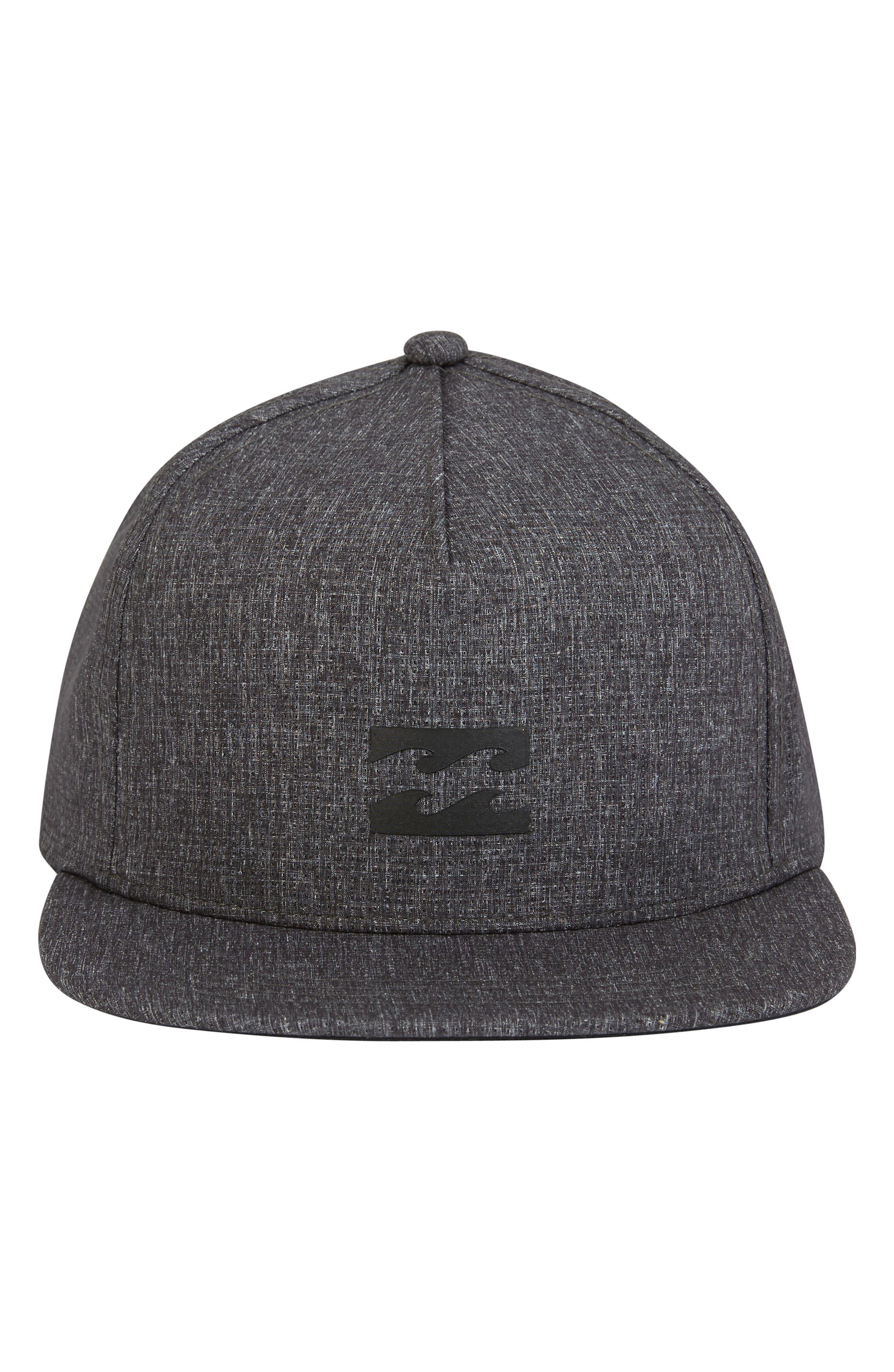 Surftrek Trucker Hat,                             Alternate thumbnail 2, color,                             BLACK HEATHER