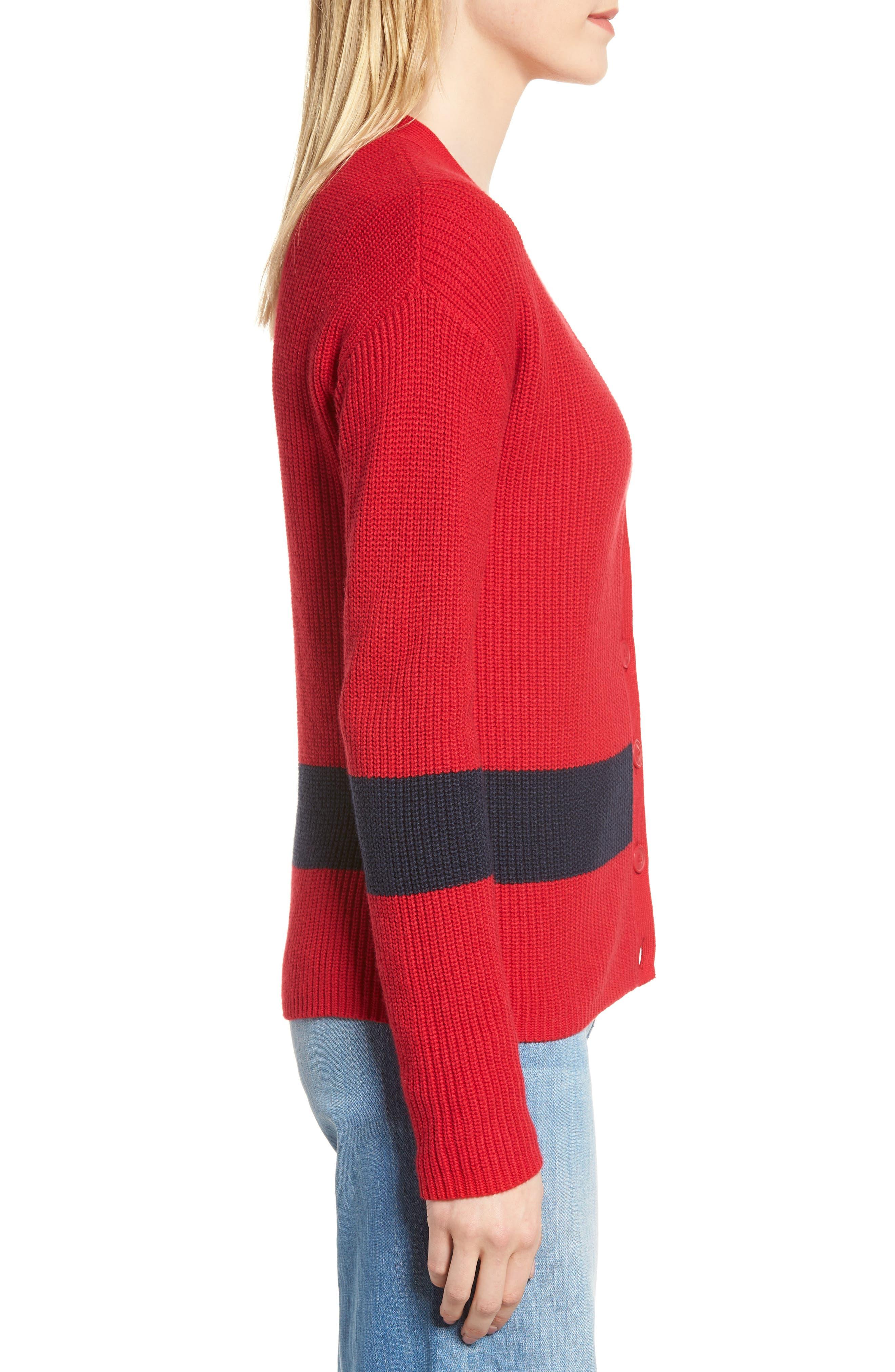 Shaker Knit Cardigan,                             Alternate thumbnail 18, color,
