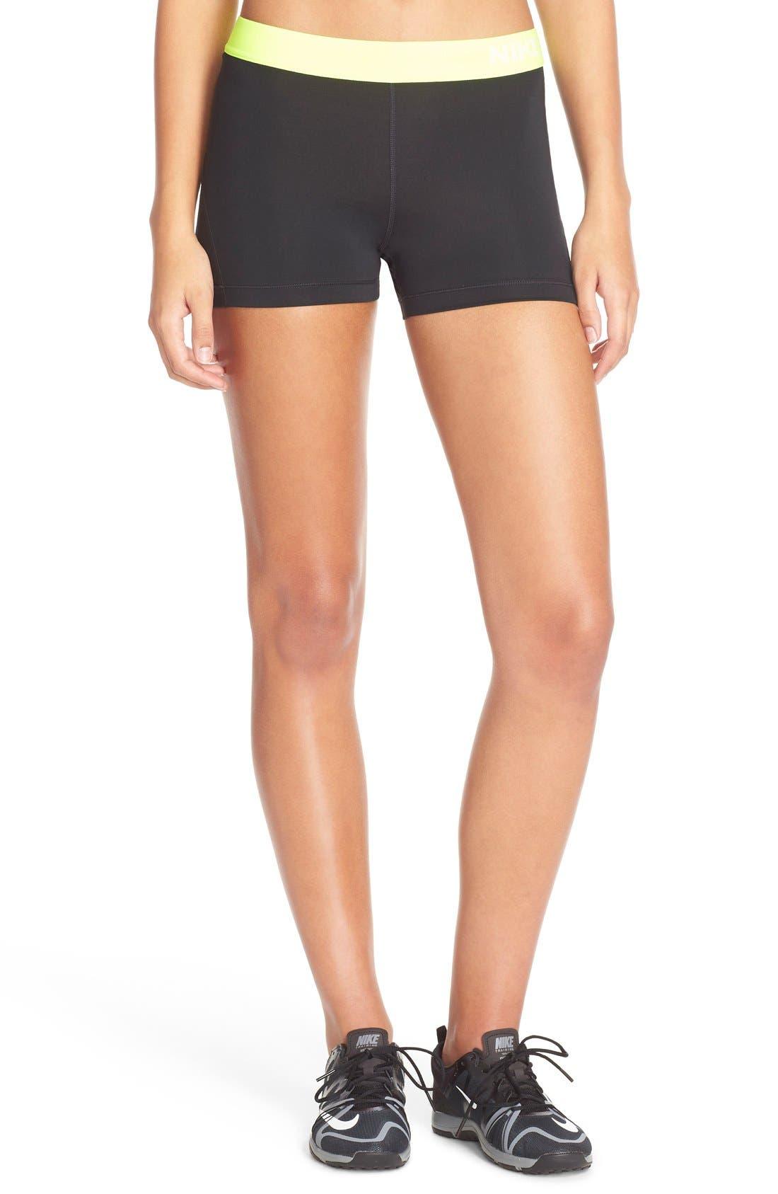 NIKE,                             'Pro' Dri-FIT Shorts,                             Main thumbnail 1, color,                             012