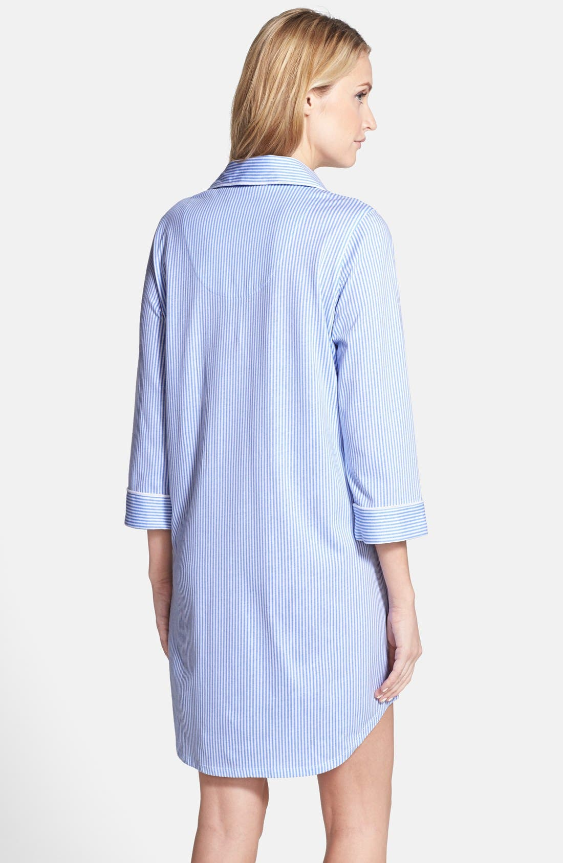 Jersey Sleep Shirt,                             Alternate thumbnail 22, color,
