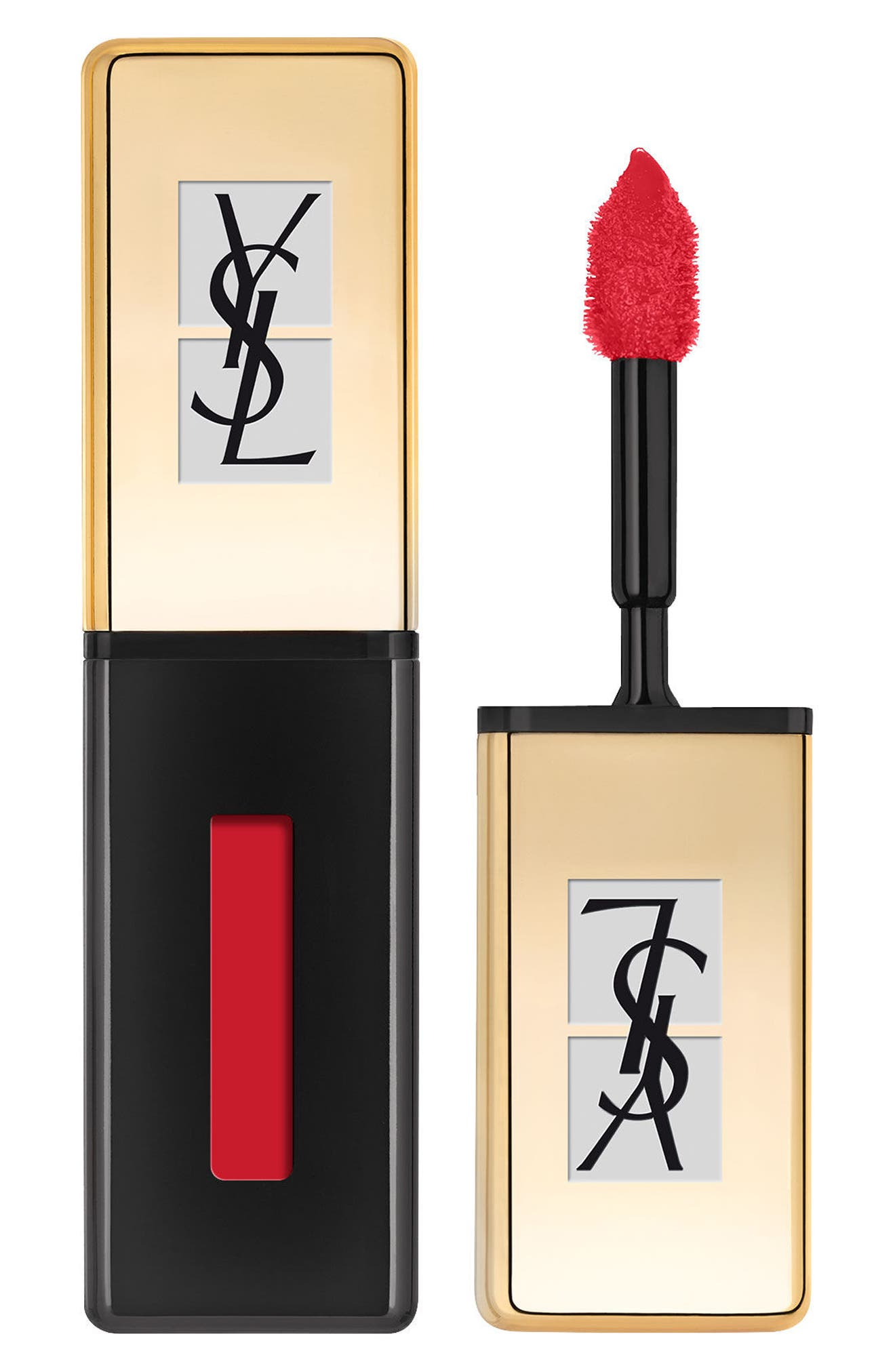 Yves Saint Laurent Pop Water - Vernis A Levres Glossy Stain - 217 Red Spray