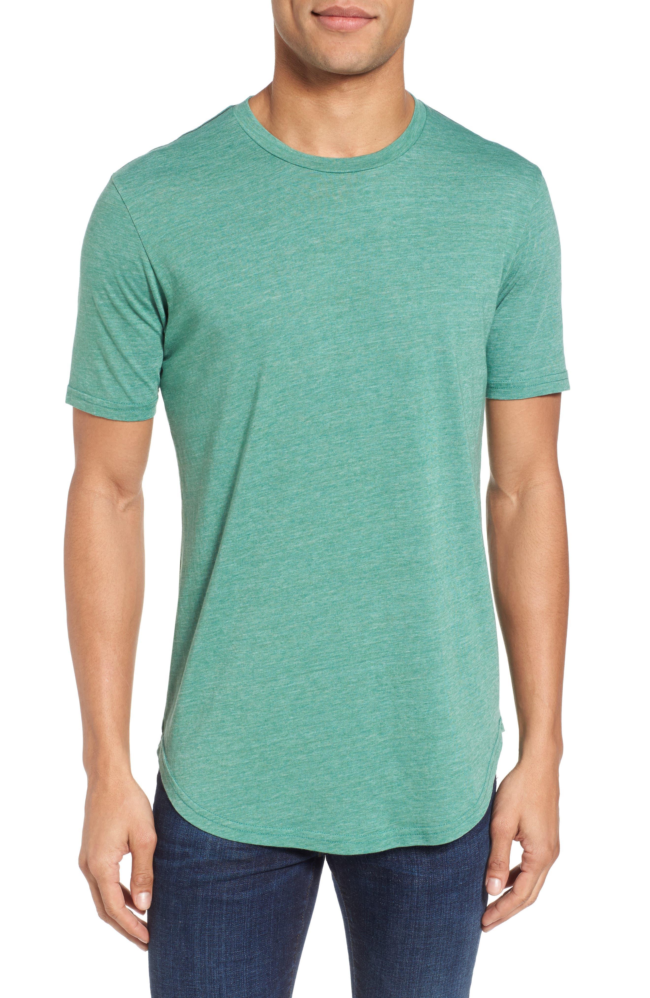 Scallop Triblend Crewneck T-Shirt,                             Main thumbnail 7, color,