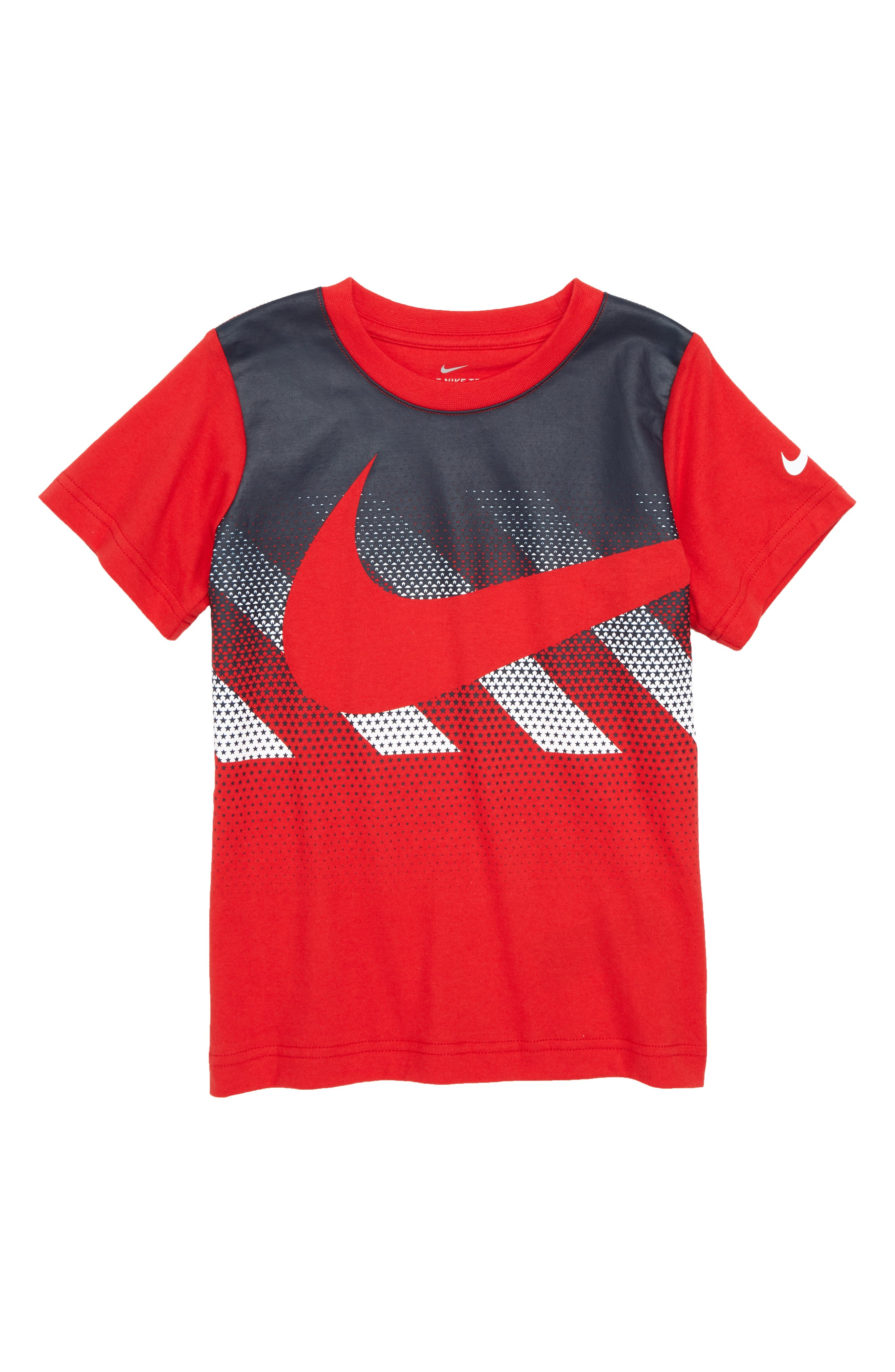 Hazard Swoosh T-Shirt,                             Main thumbnail 1, color,                             411