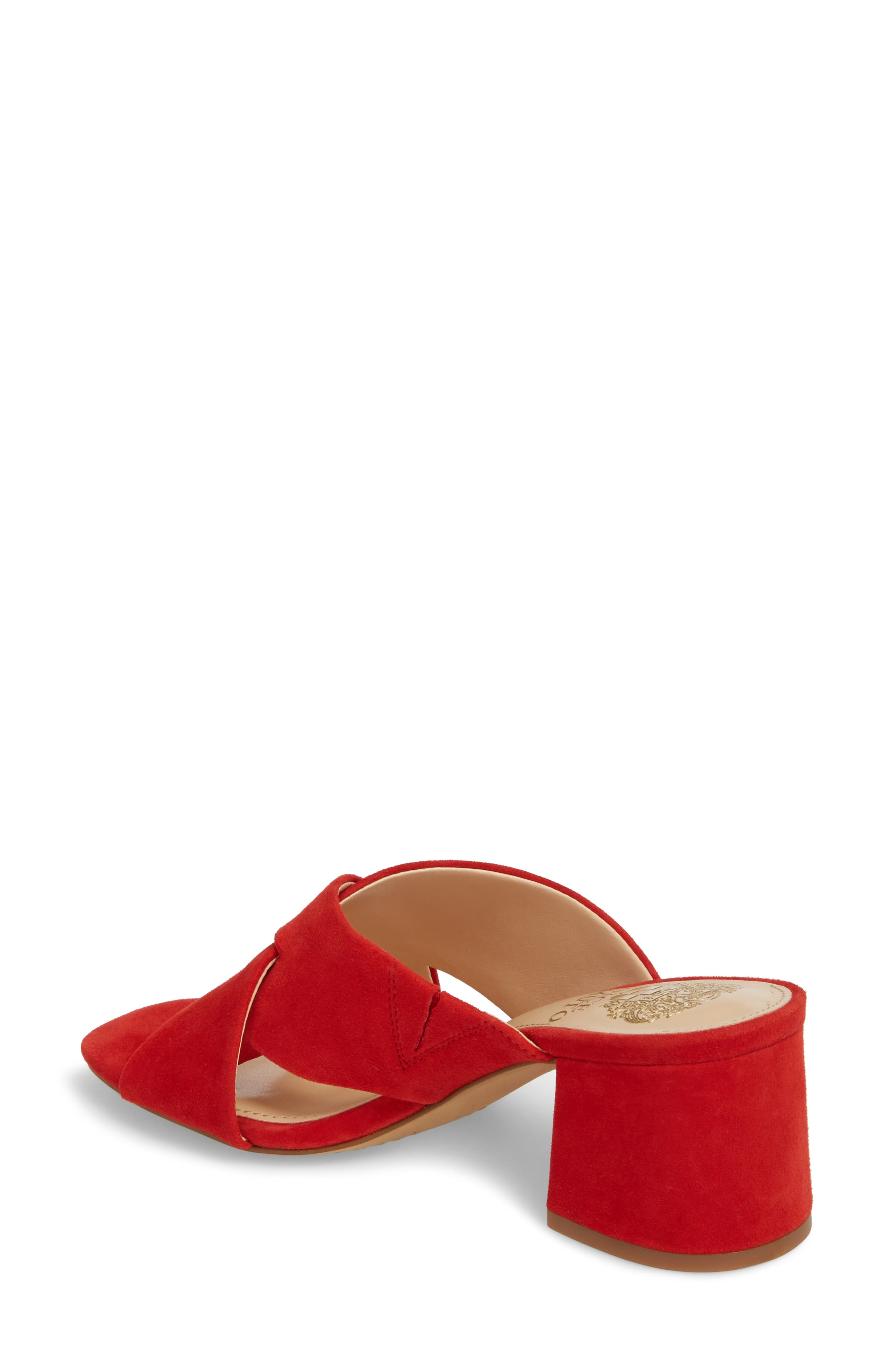 Stania Sandal,                             Alternate thumbnail 2, color,                             RED HOT RIO SUEDE