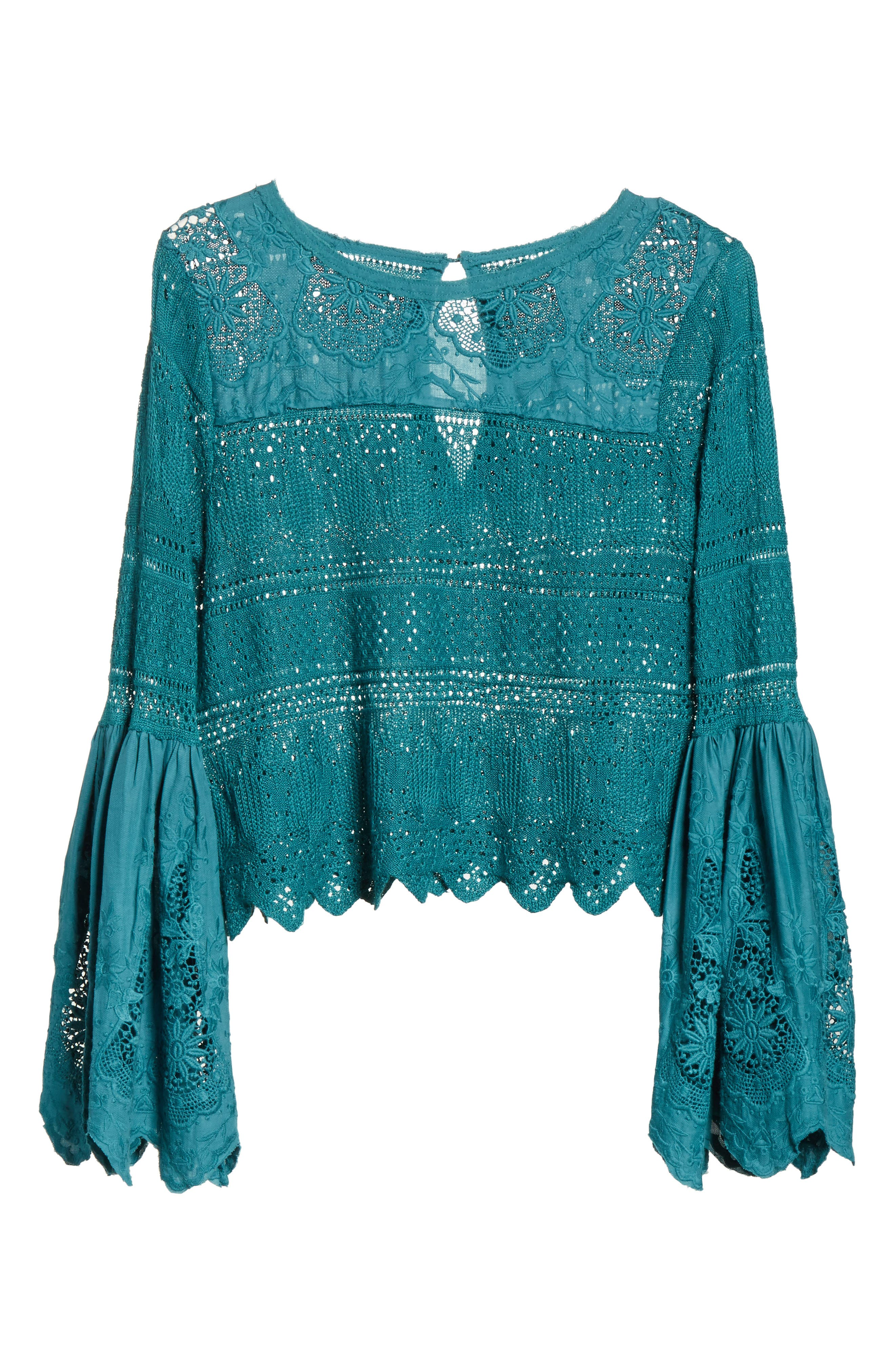 Once Upon a Time Lace Top,                             Alternate thumbnail 22, color,