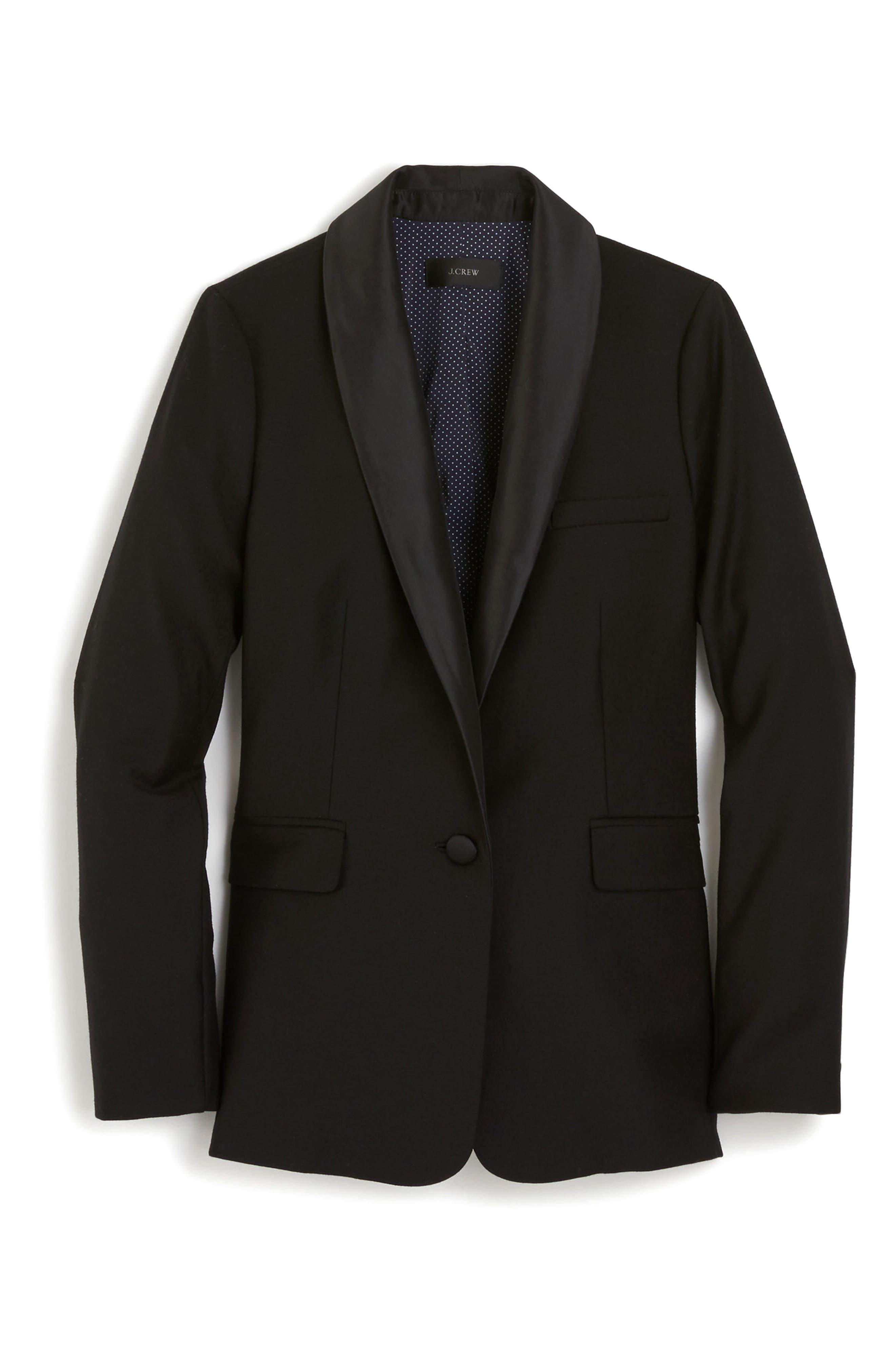 Tuxedo Blazer,                             Alternate thumbnail 3, color,                             001
