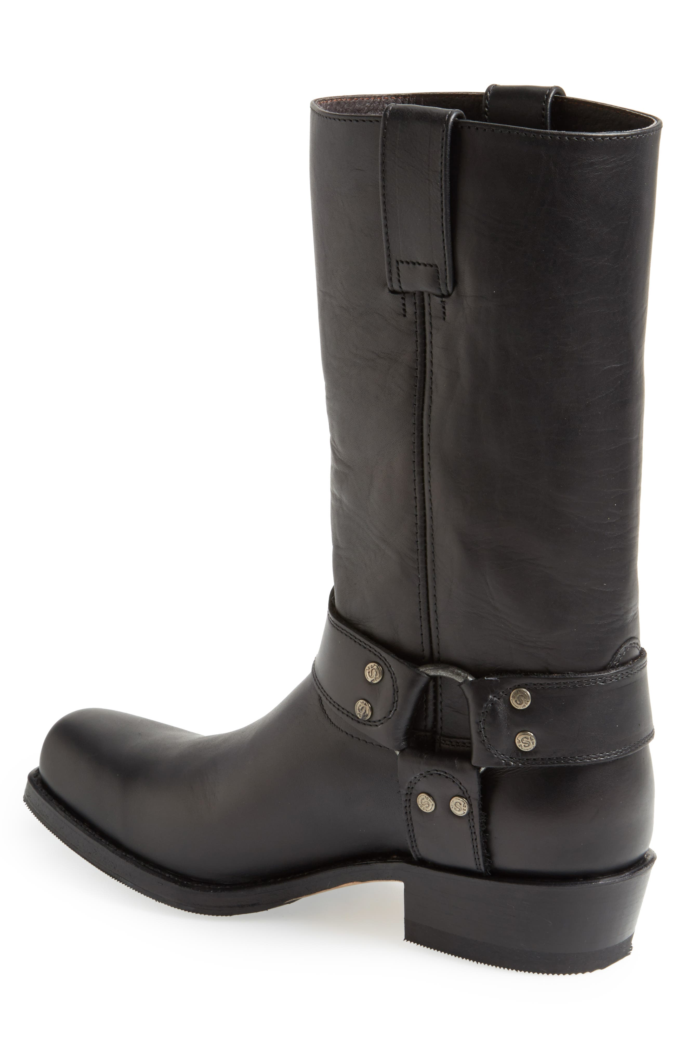 Boots Tall Harness Boot,                             Alternate thumbnail 6, color,                             BLACK