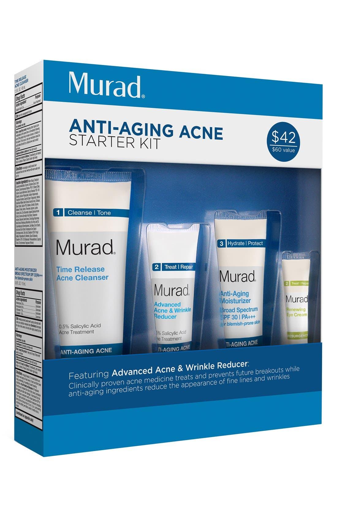 'Anti-Aging Acne' Starter Kit,                         Main,                         color, 000