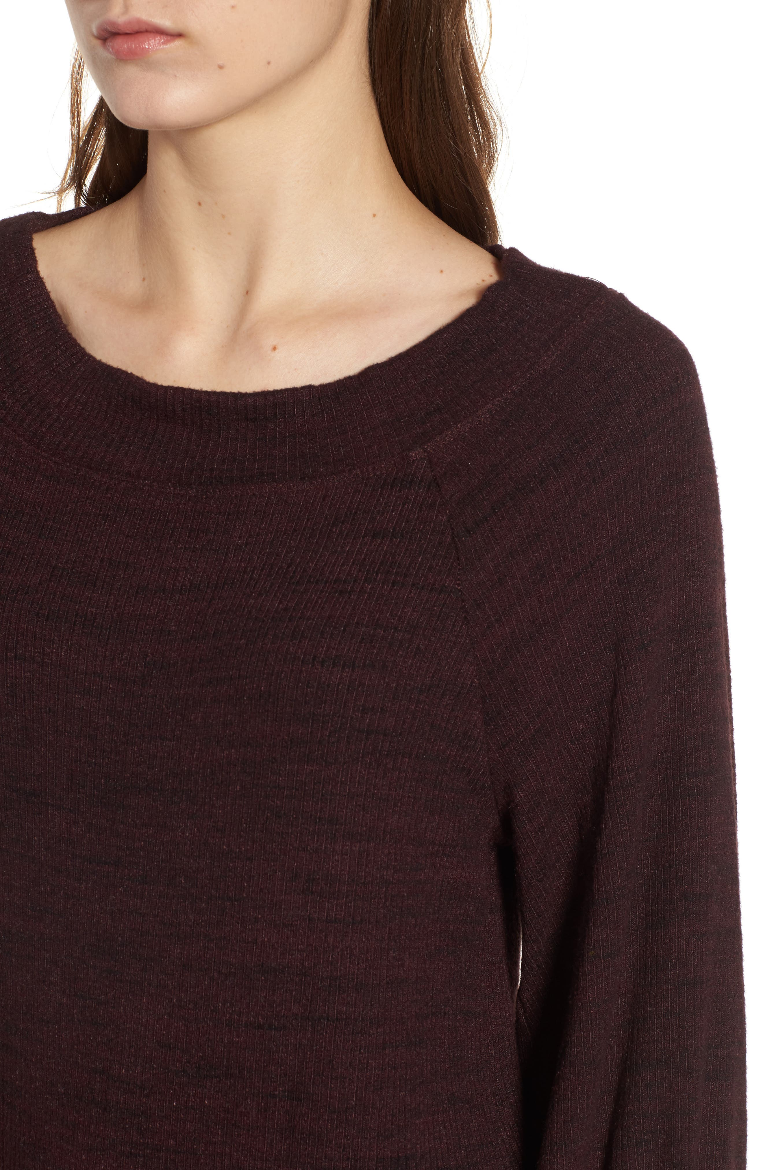 Triblend Ribbed Top,                             Alternate thumbnail 8, color,